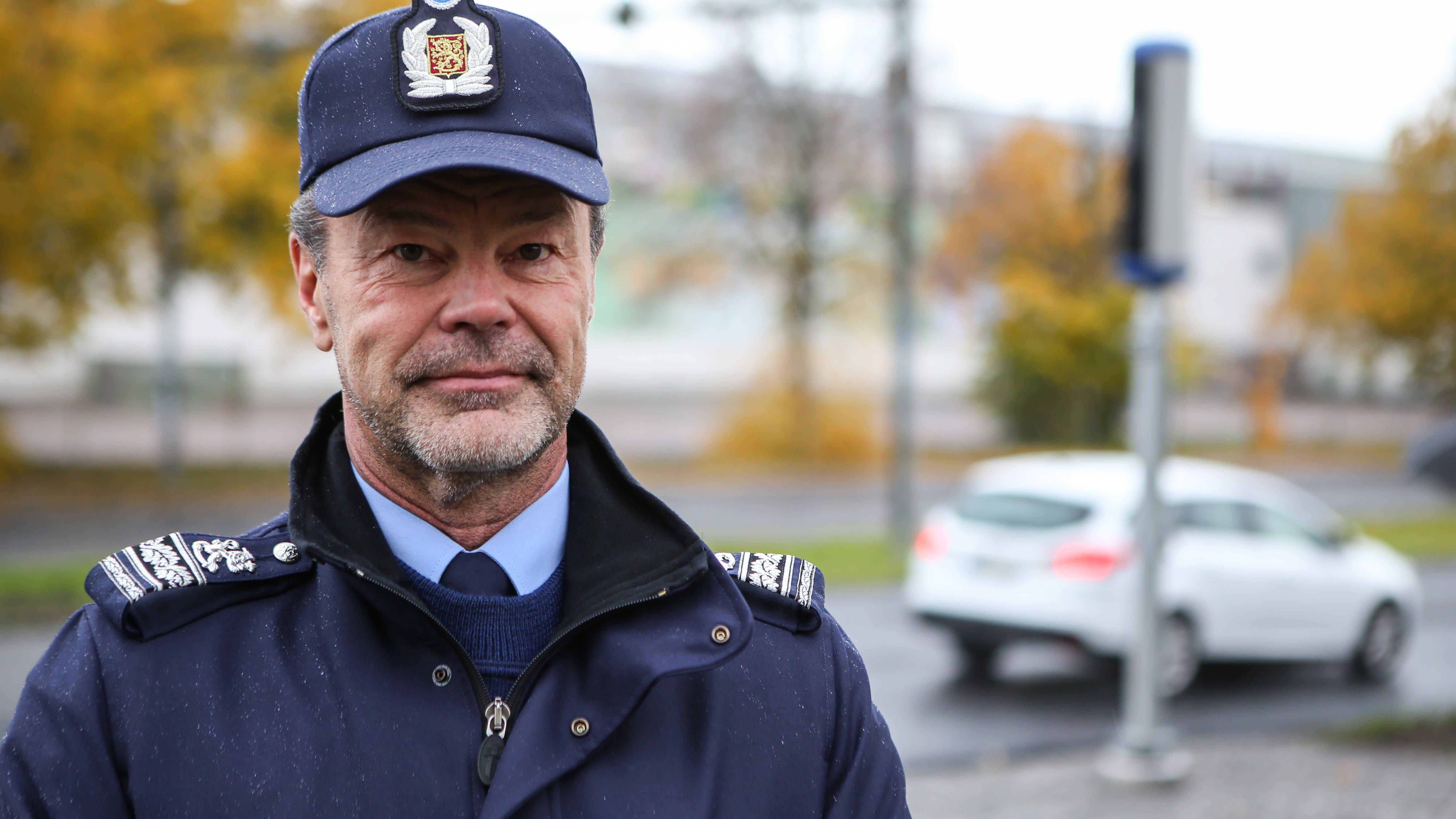 Ylikomisario Mika Peltola, Lounais-Suomen poliisilaitos.