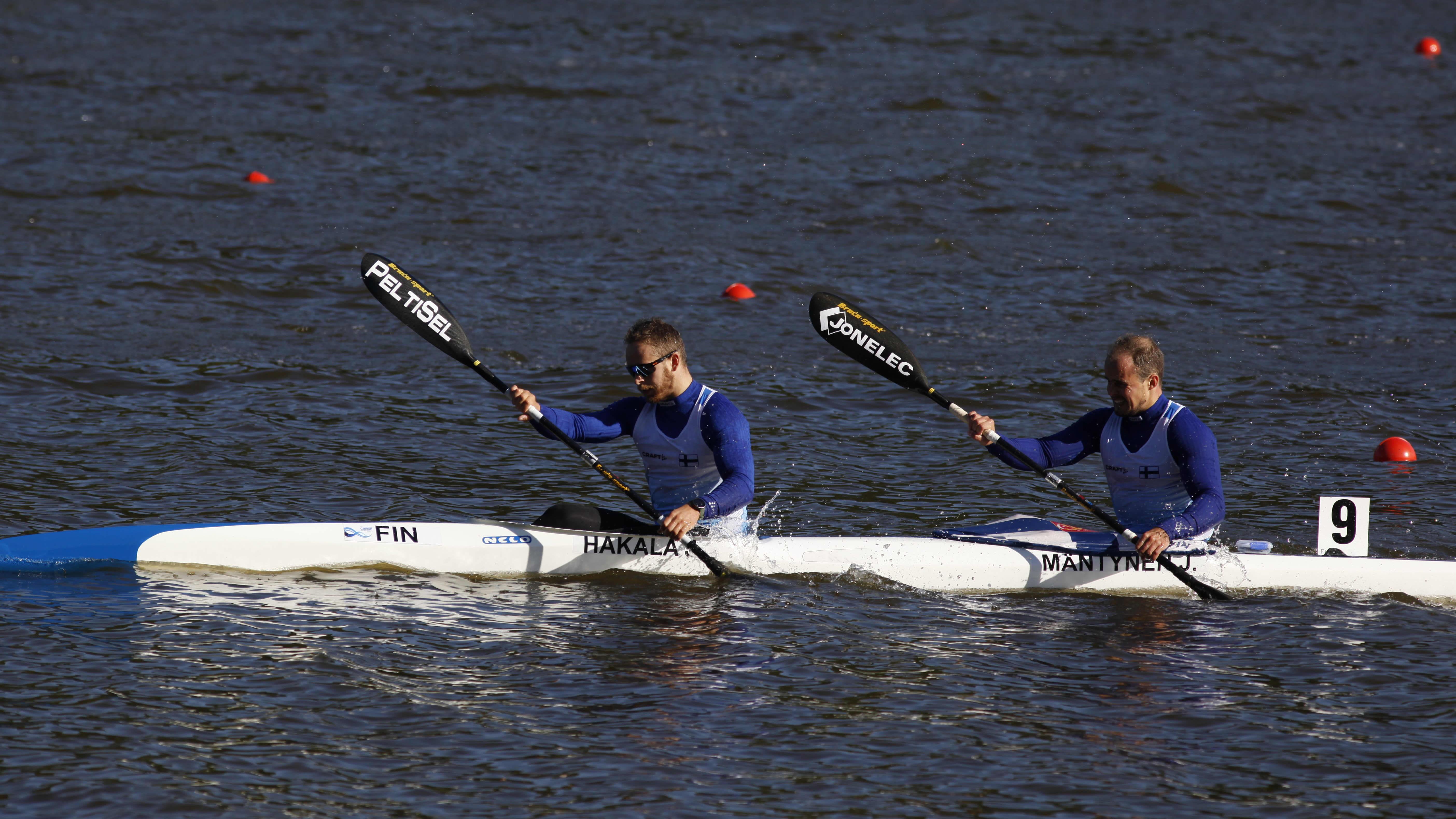 Jeremy Hakala ja Joona Mäntynen kuvassa.