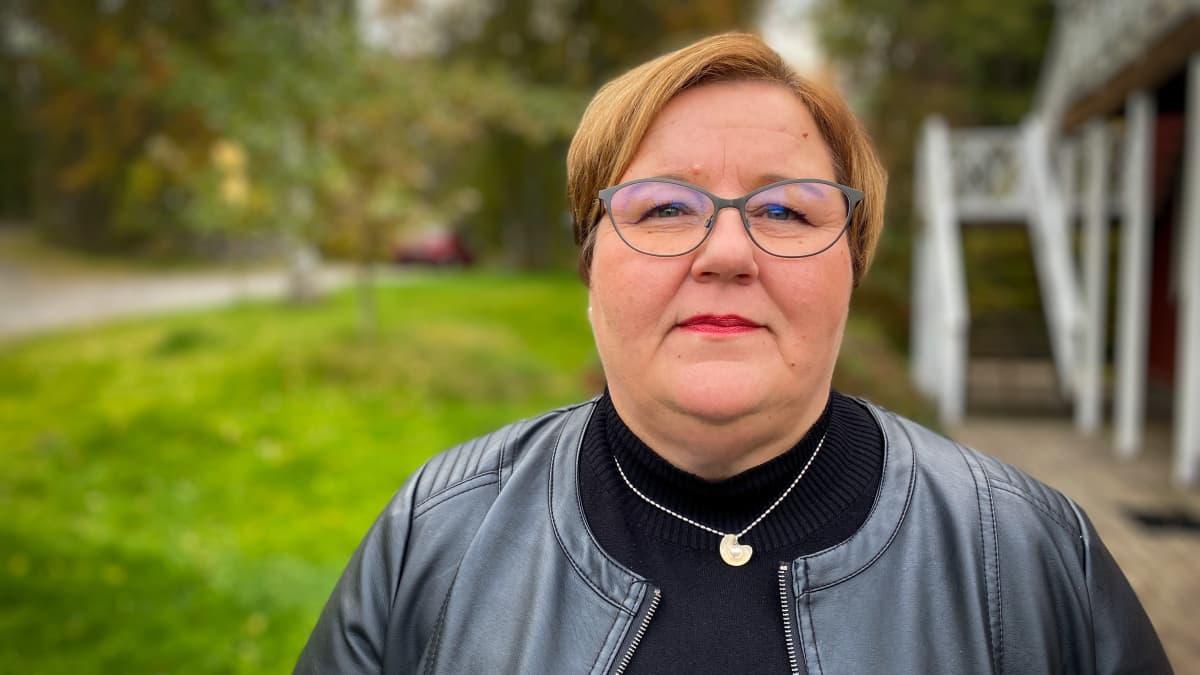 Koivupirtin säätiön toimitusjohtaja Johanna Santaniemi.