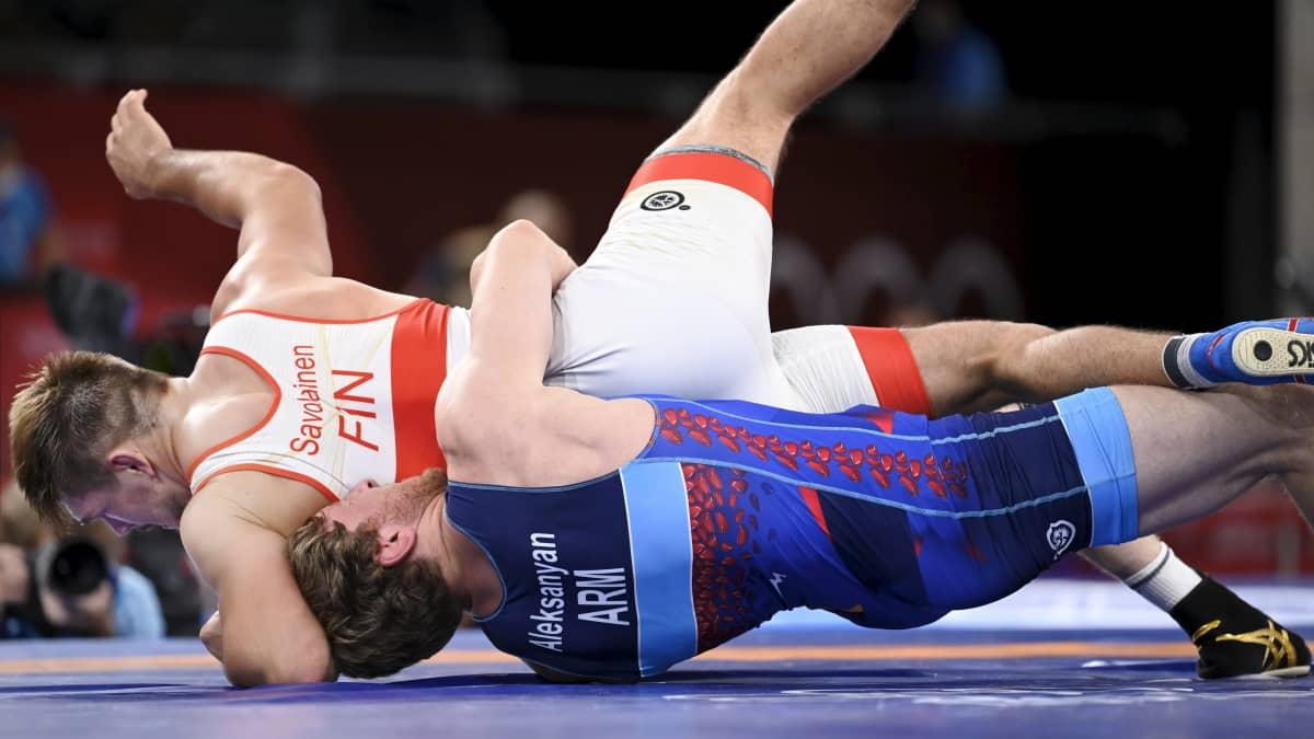 Tämä kymmenen sekunnin pätkä erotti Arvi Savolaisen olympiavoittajasta
