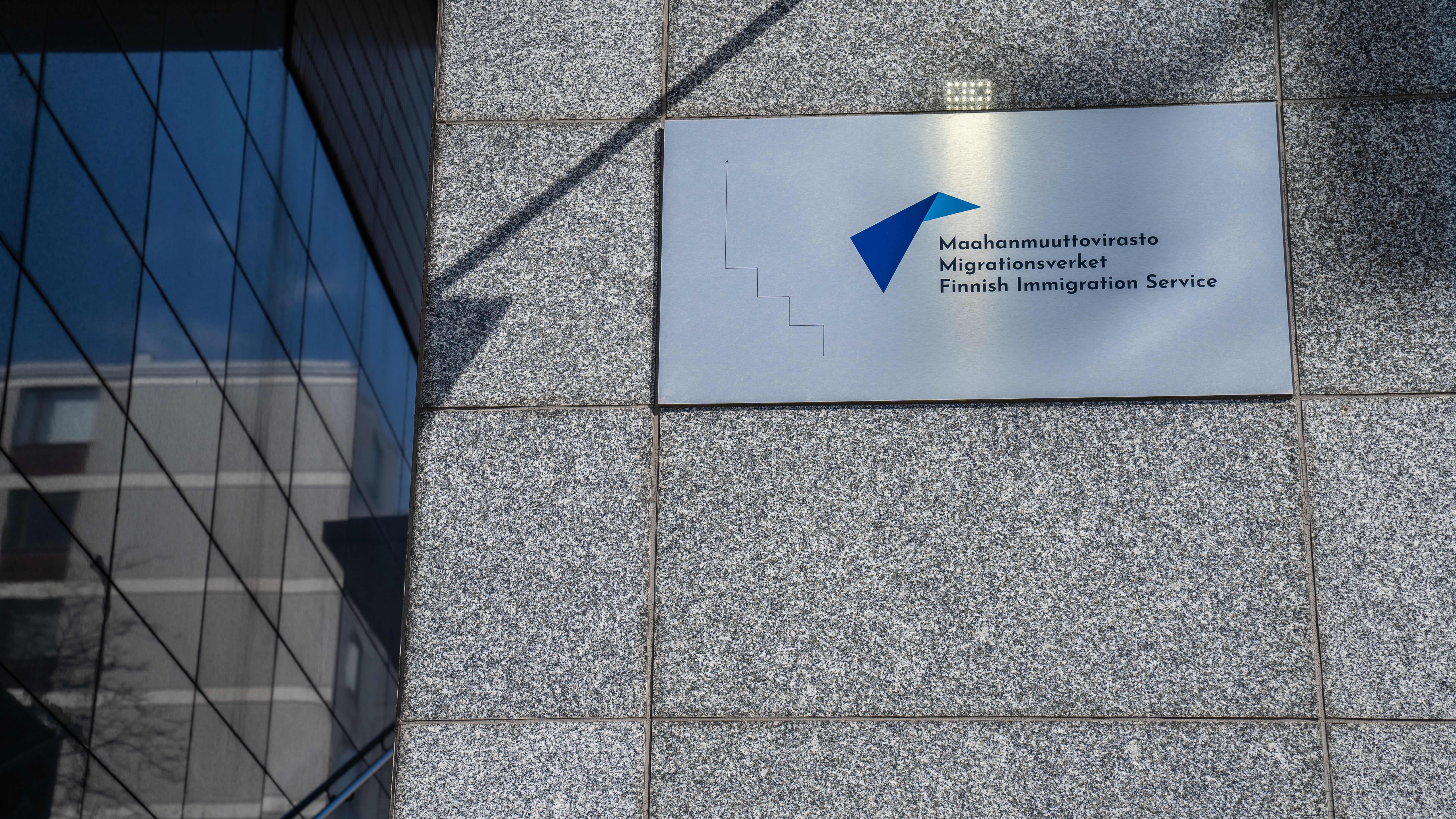 Maahanmuuttovirasto / Migri / Ratapihantie 11 / Pasila / Helsinki 13.04.2020