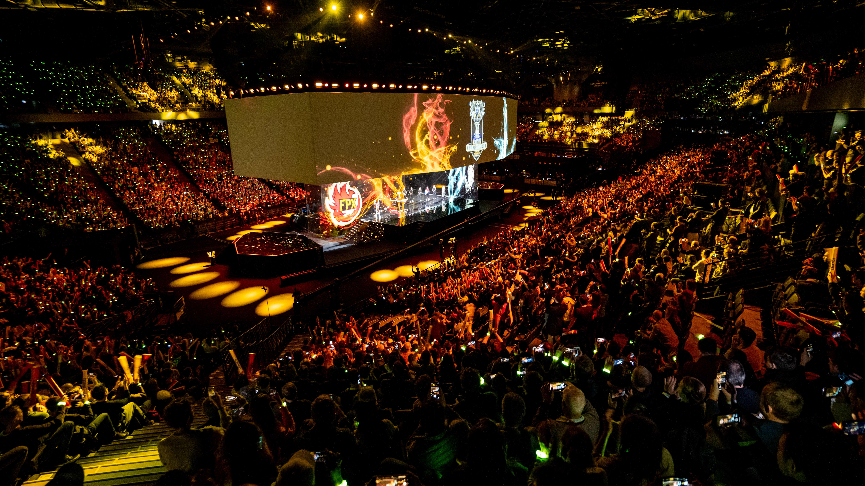 League of Legendsin MM-finaali Pariisissa.