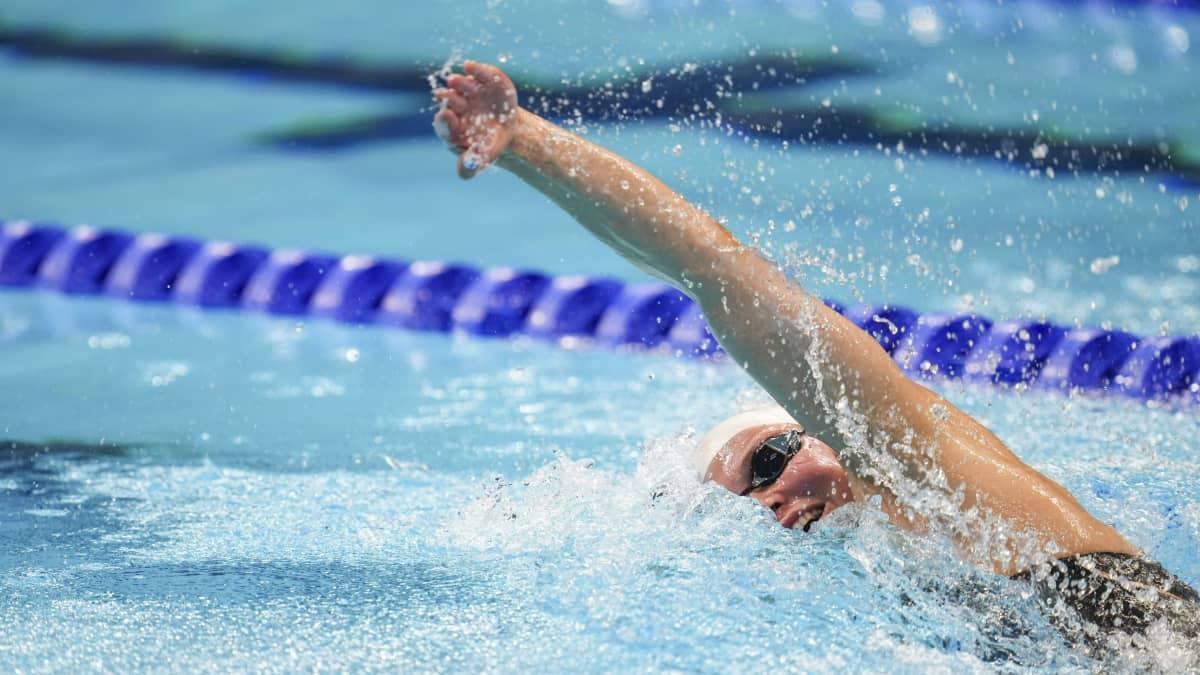 Fanny Teijonsalo niukasti ulos olympiavälieristä