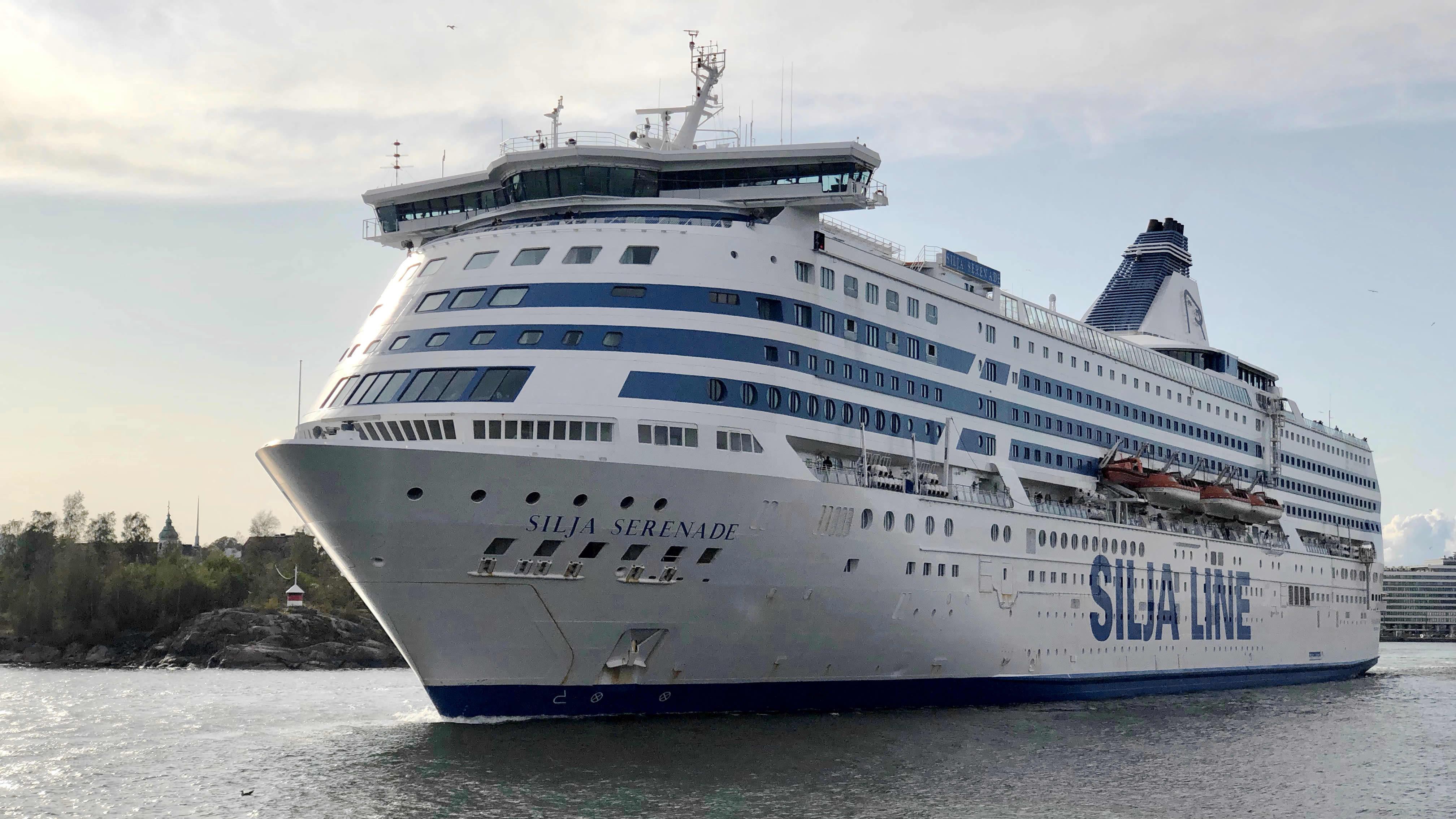 Tallink Siljan matkustajalaiva Silja Serenade