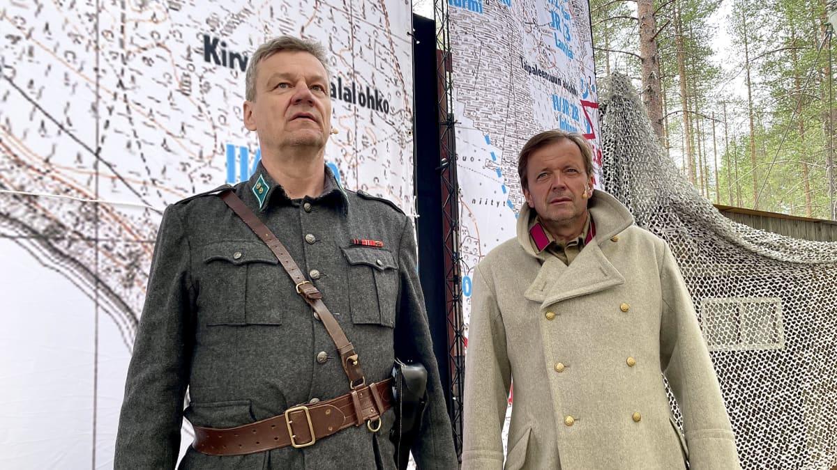 Taipaleenjoen taistelut ja Yrjö Jylhän riipaisevat tekstit kuullaan oopperassa Suomussalmella