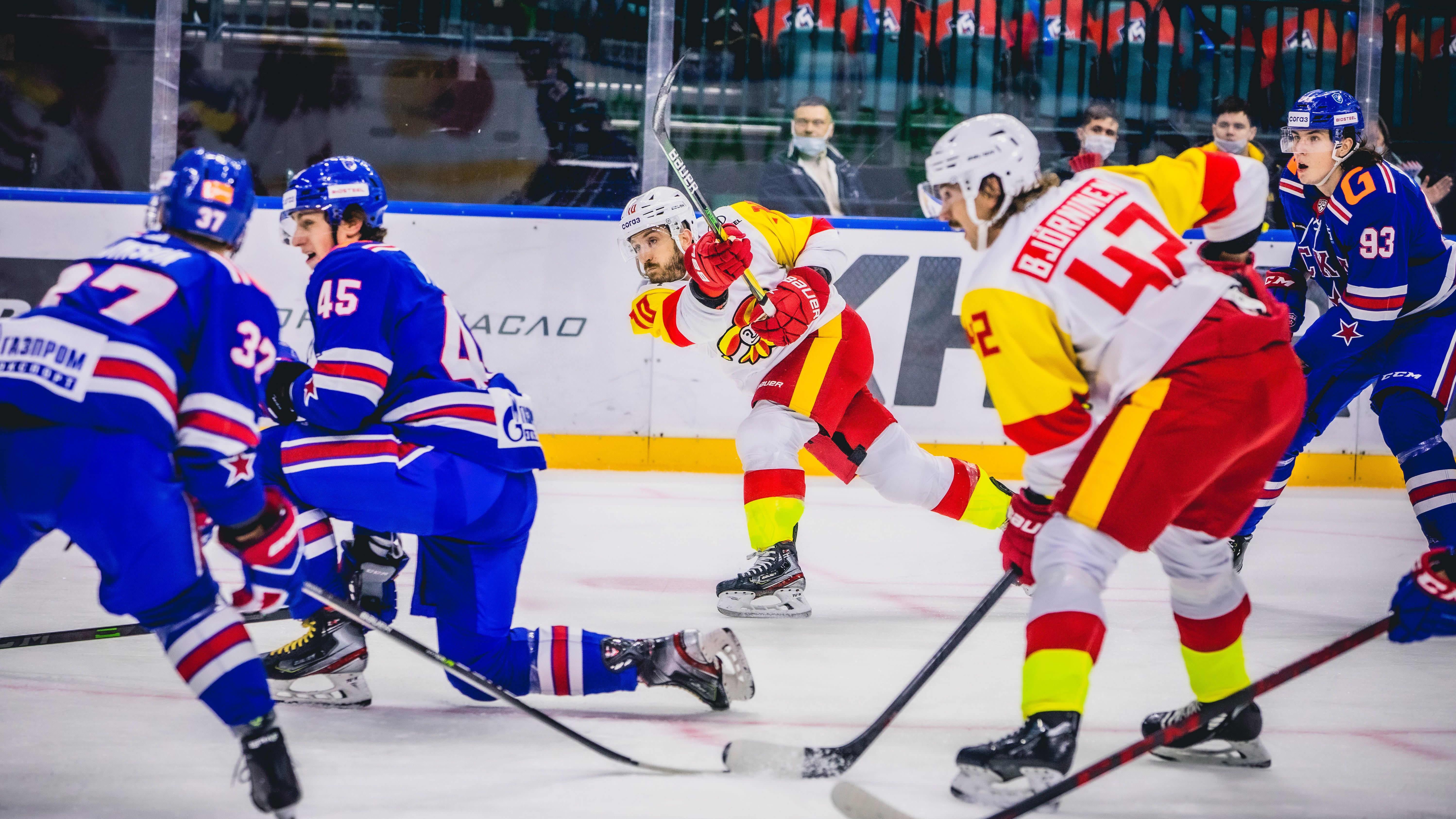 Jokereiden ruuti oli märkää Pietarissa.
