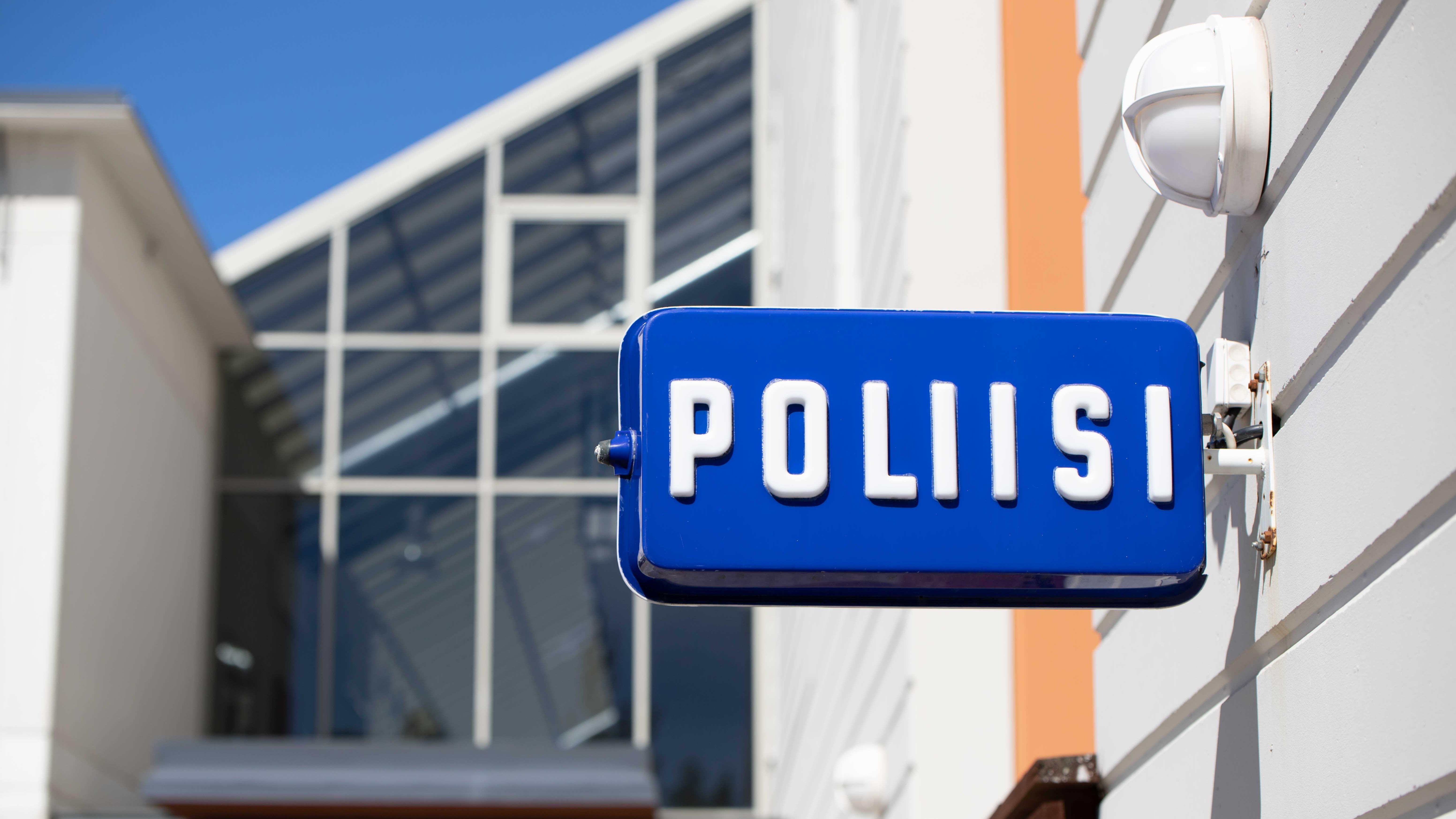 Kokkolan poliisitalo.