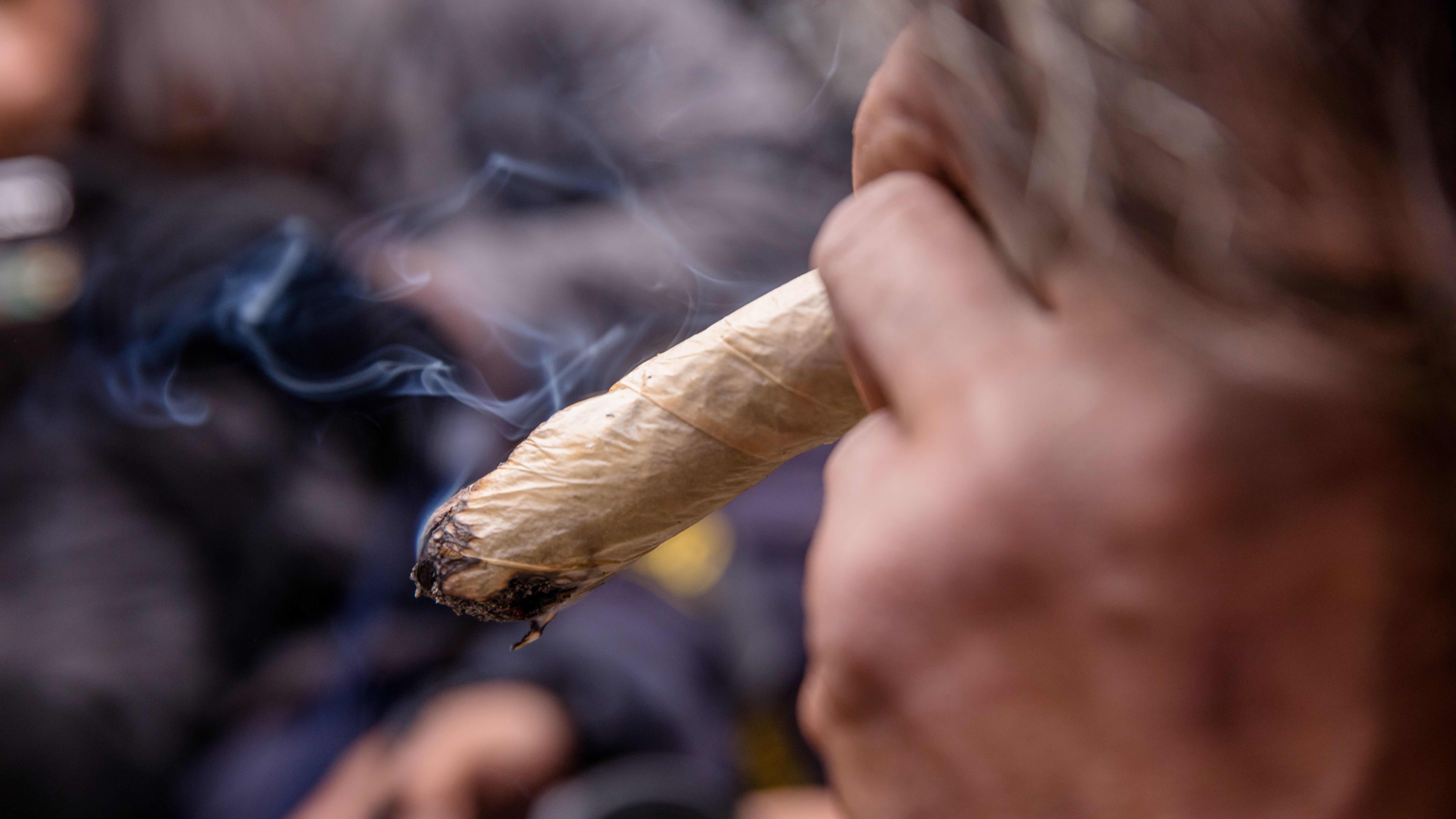 Kannabissätkä lähikuvassa