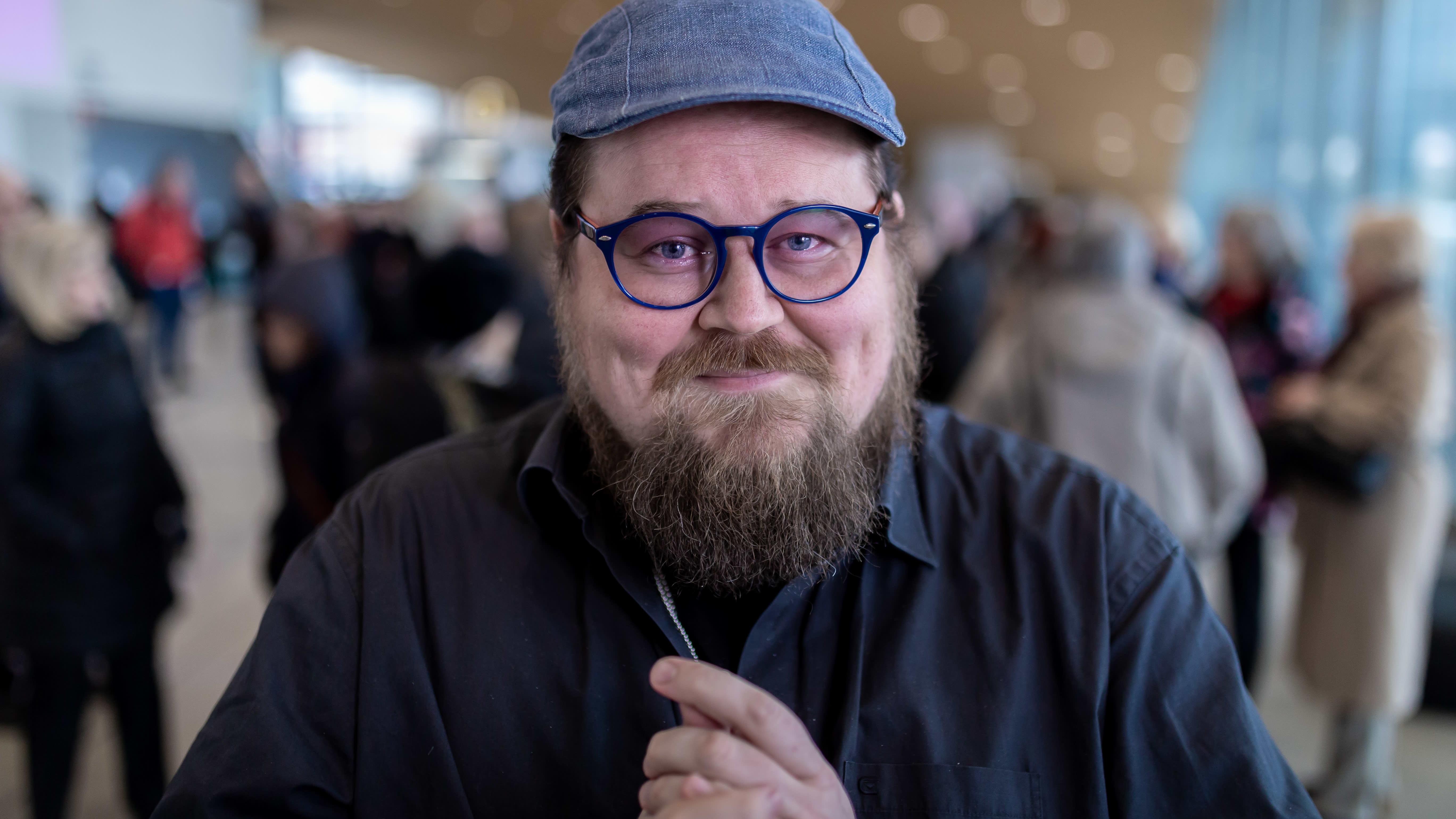 Taikuri ja mentalisti Pete Poskiparta, Keskustakirjasto Oodi, 13.3.2019.