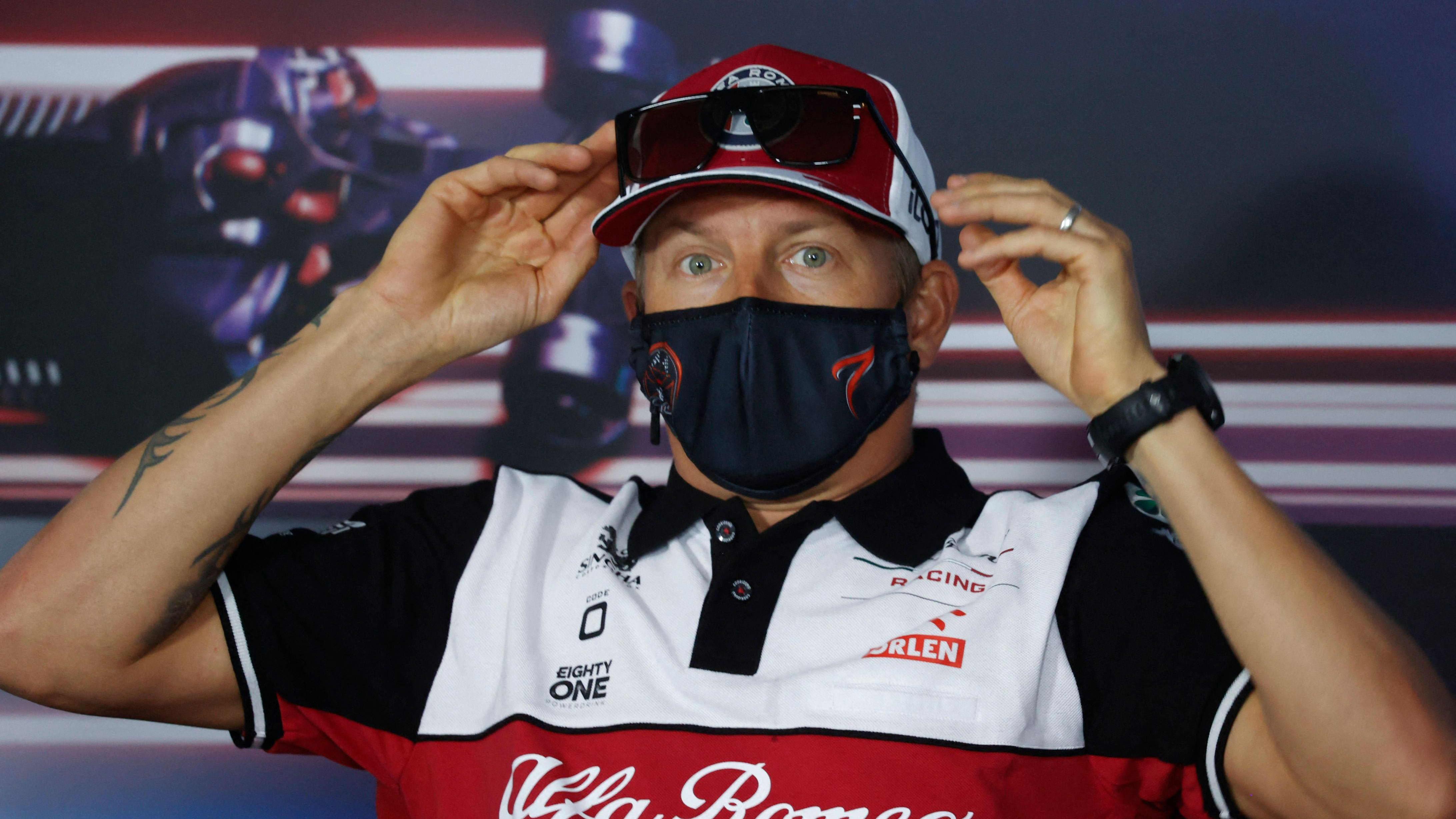 Kimi Räikkönen ei suoranaisesti nauti mediatenteistä
