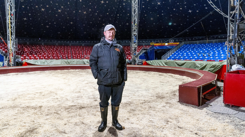 Carl Johan Jernström, sirkus finlandian johtaja