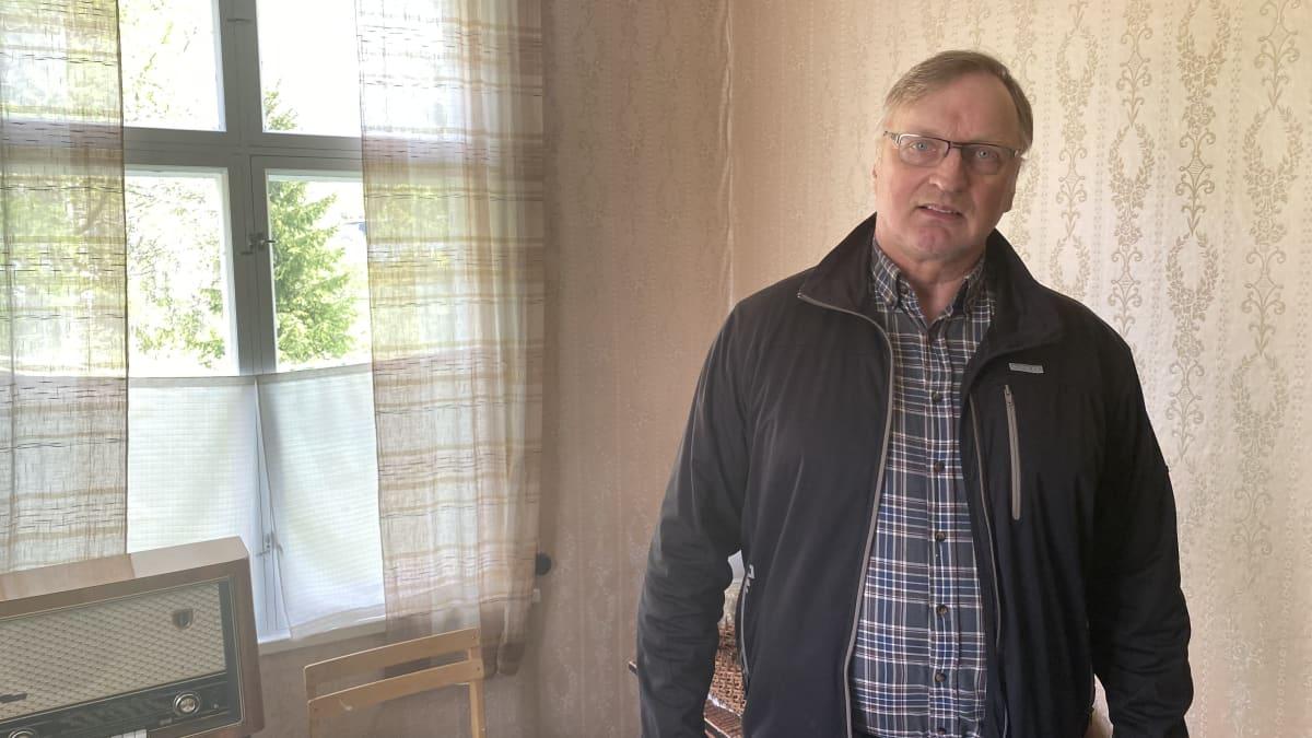 Isojoki-seuran puheenjohtaja Matti Saarikoski