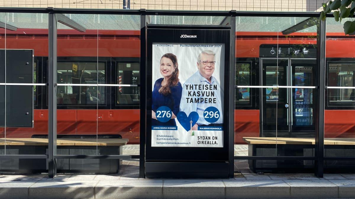 Tampereen neuvottelut alkoivat kokoomuksen johdolla – Yle seurasi puolueiden kokoontumista
