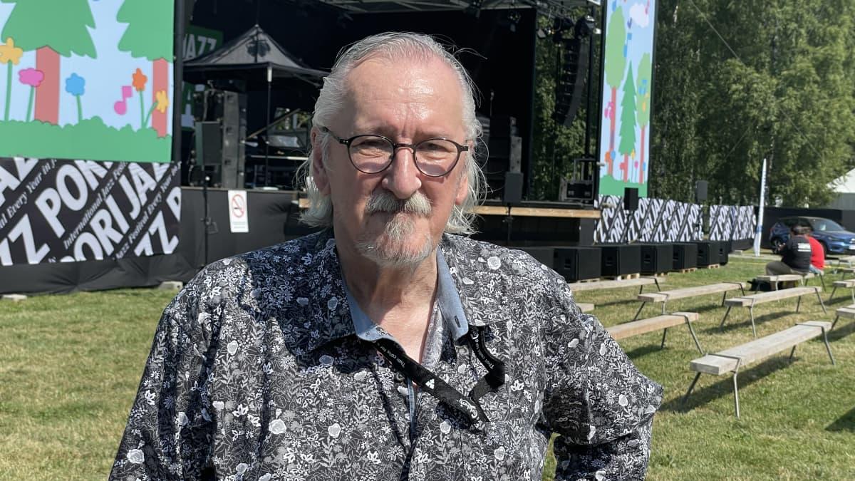Reiska Laine palasi Kirjurinluotoon jazzailemaan koronatauon jälkeen