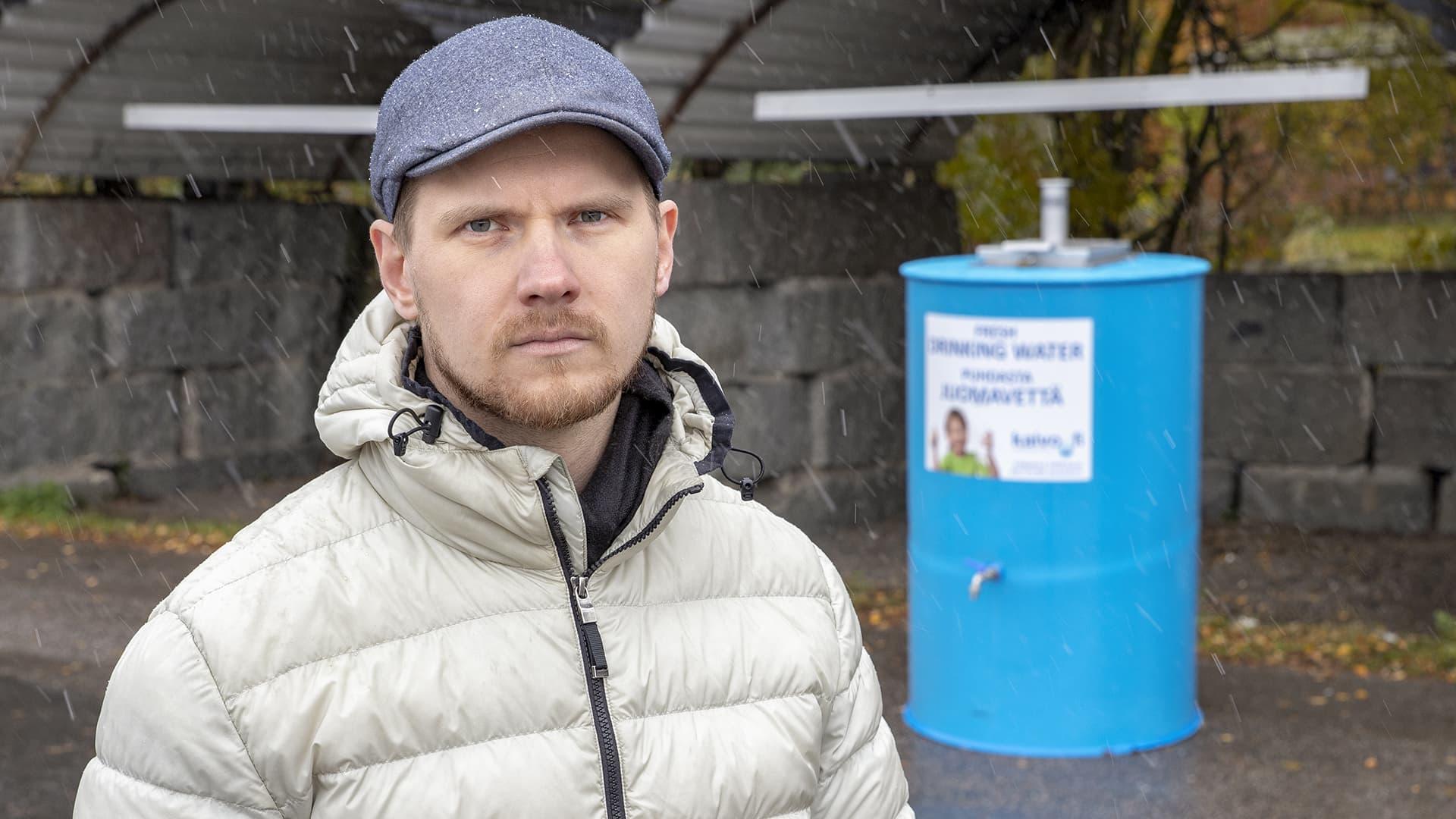Entinen Petäjäveden, nykyään Raision kaupunginjohtaja Eero Vainio.