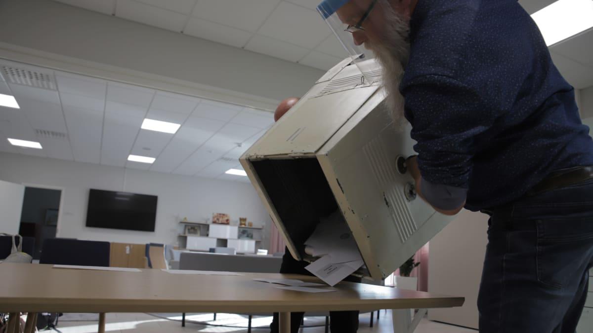 Kainuun äänestysaktiivisuus jäi surkealle tasolle kuntavaaleissa
