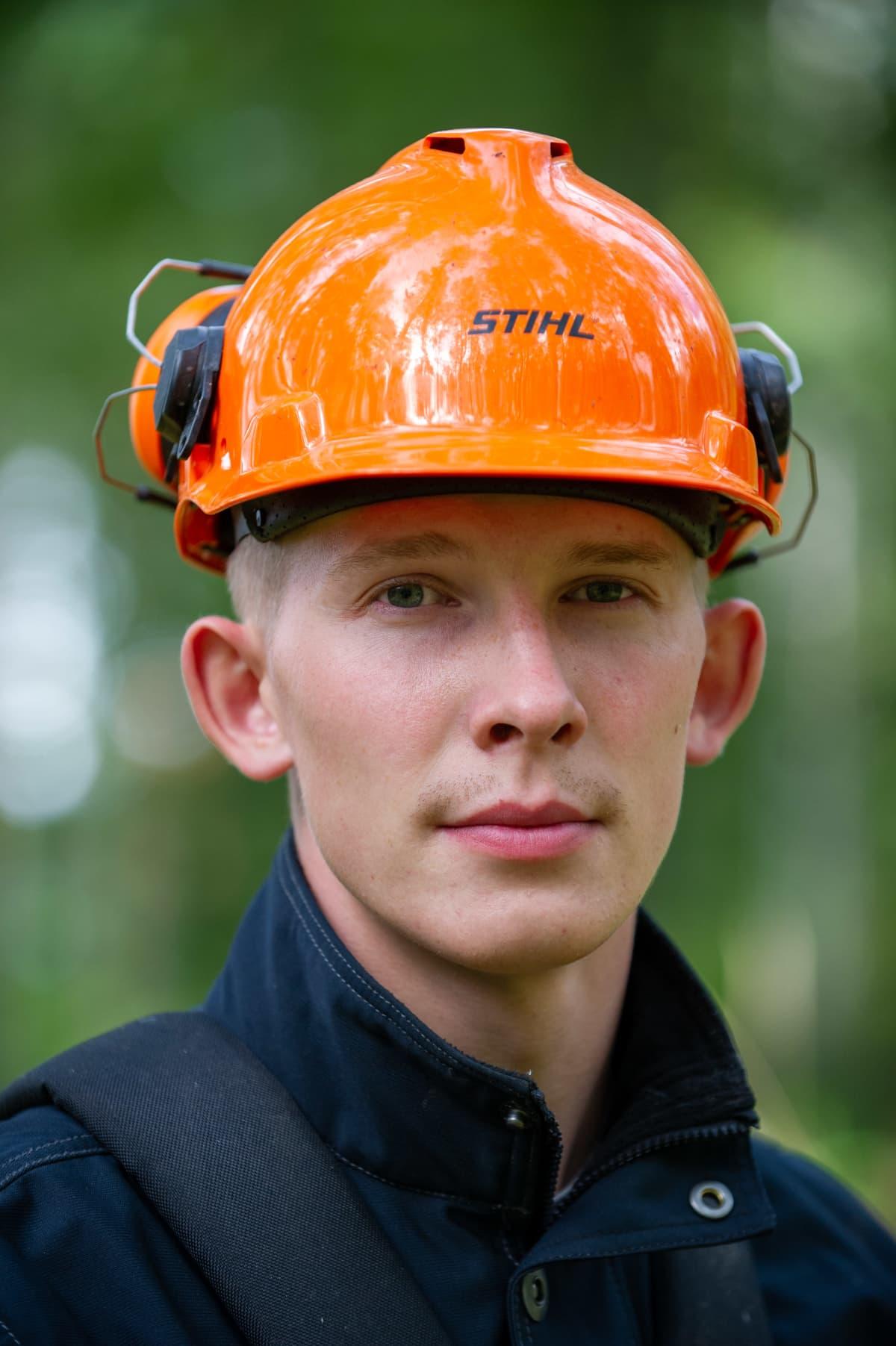 Orimattilainen opettaja ja maanviljelijä Leo Arrevaara.