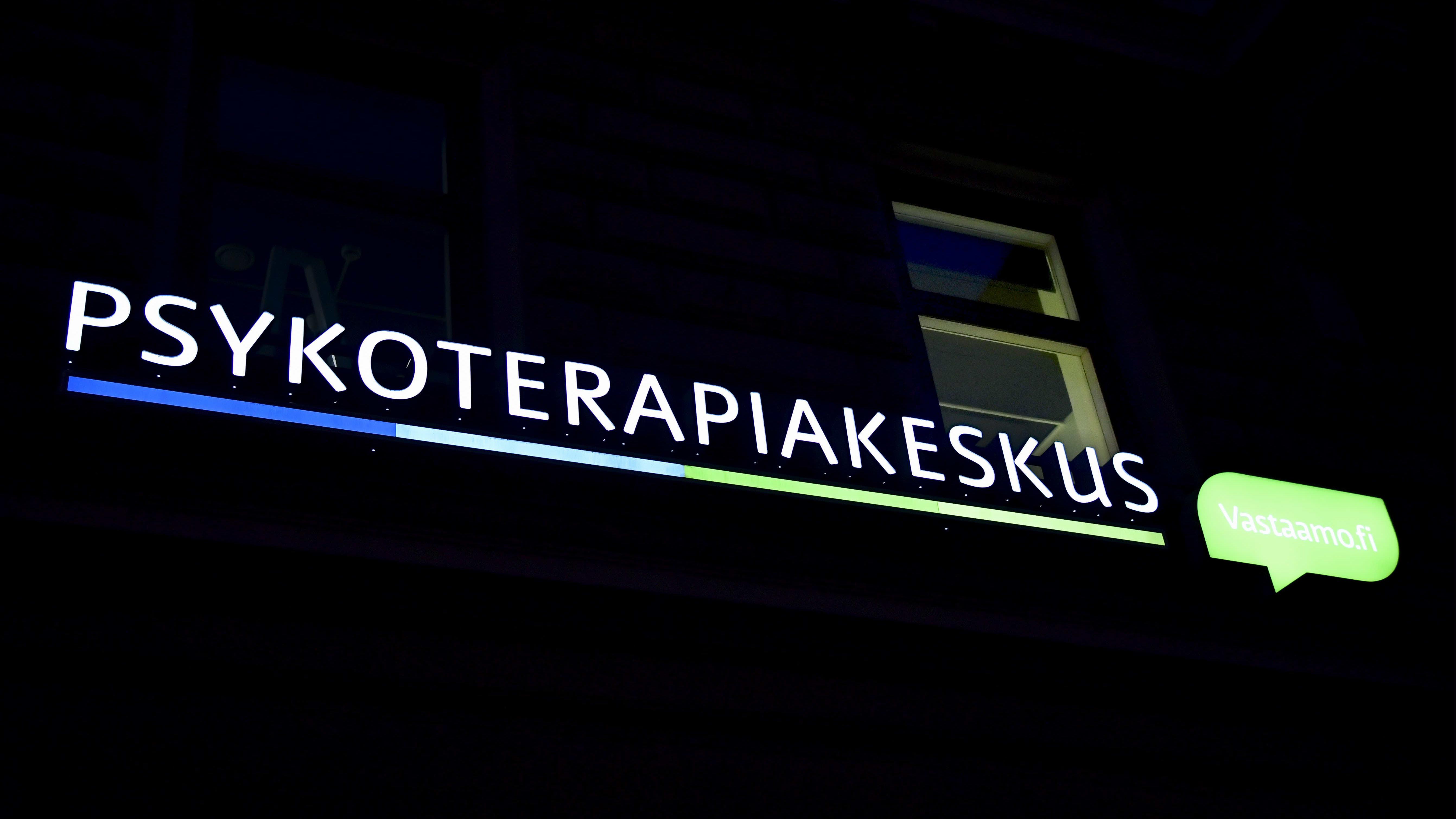 Psykoterapiakeskus Vastaamo Helsingissä