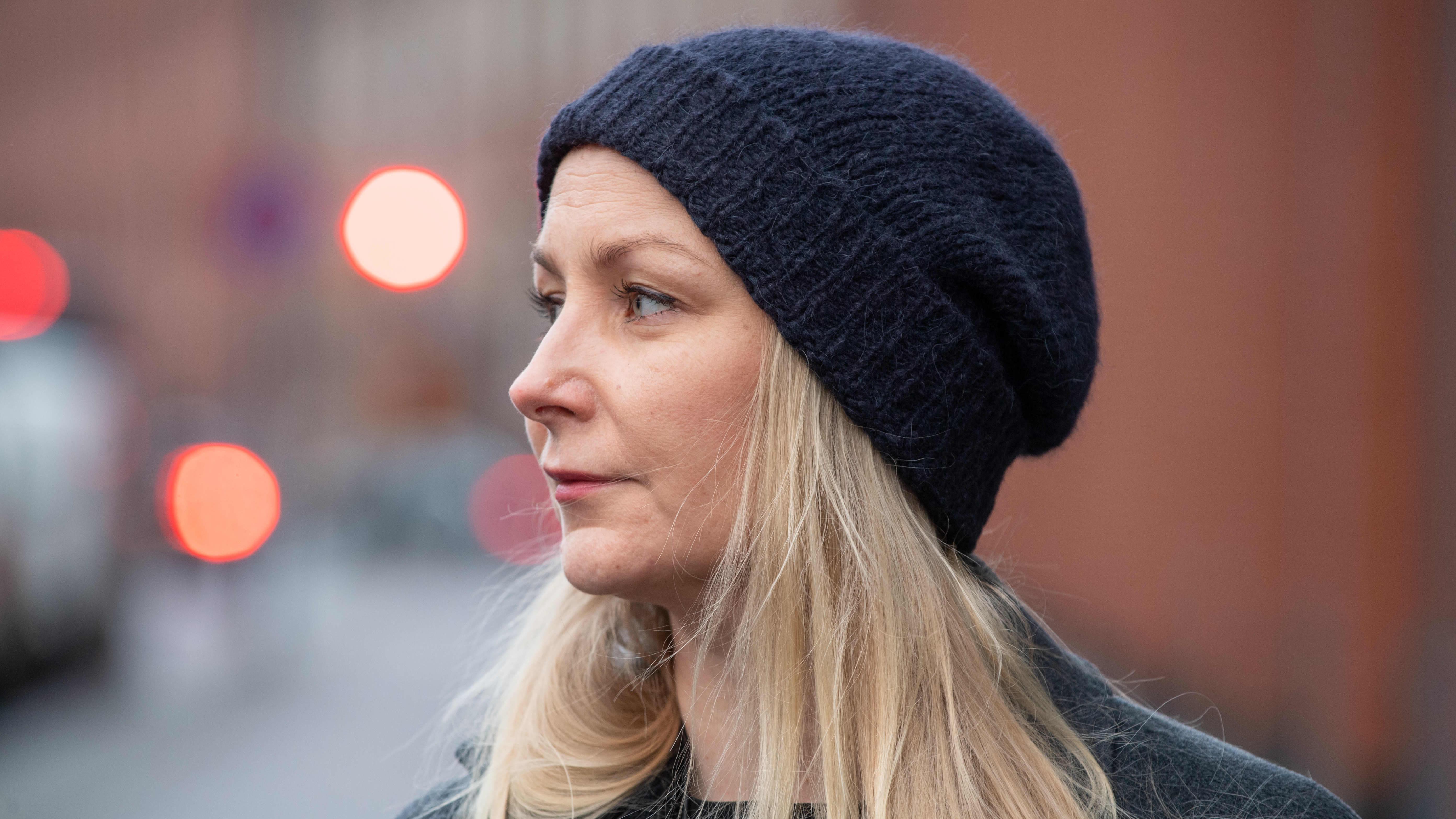 Suomalainen elokuvaohjaaja Zaida Bergroth.