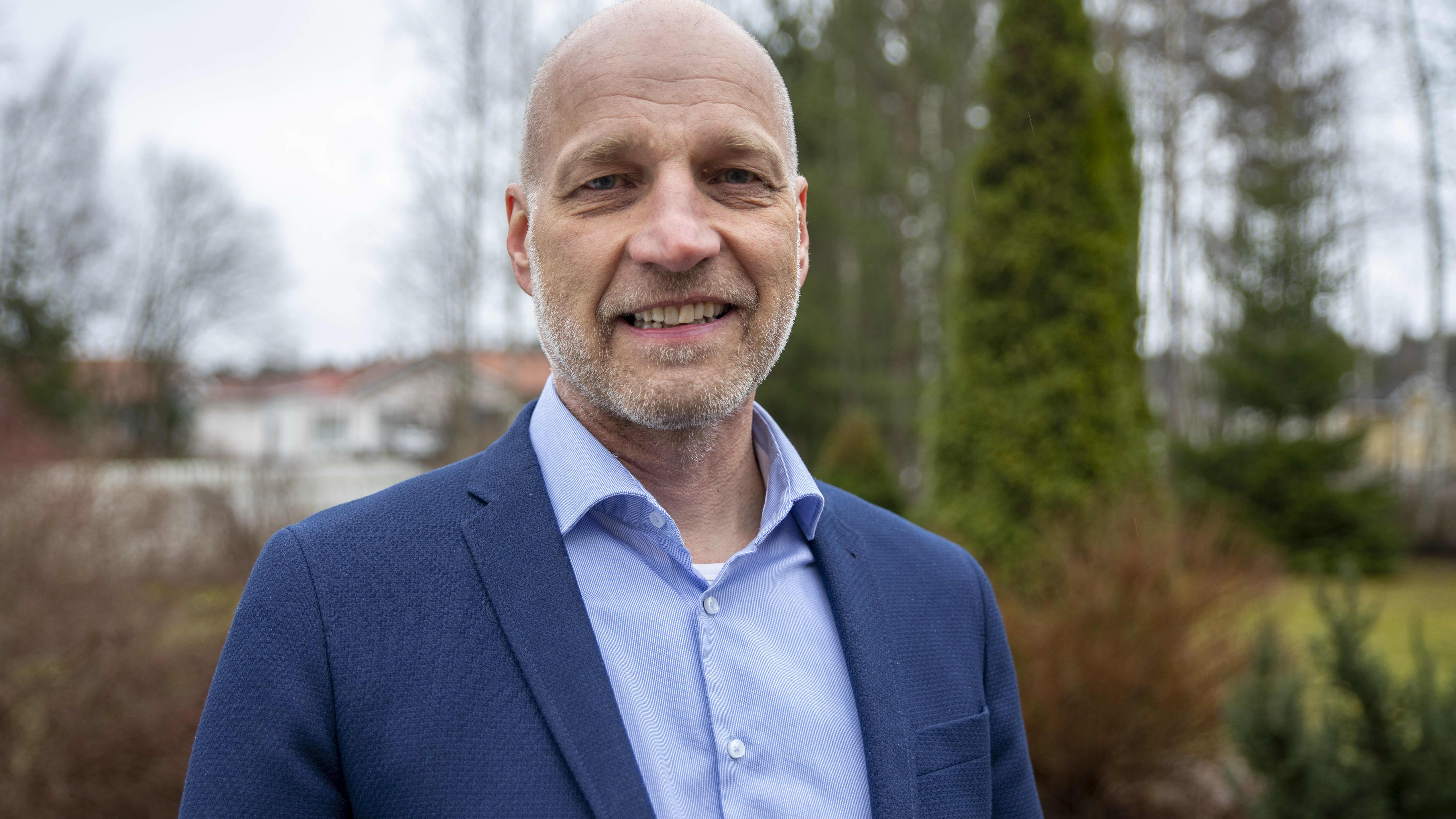 Imatran tuleva kaupunginjohtaja Ari Lindeman.