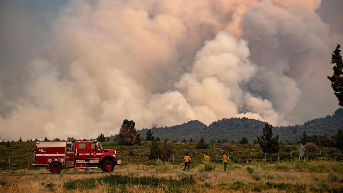 Metsäpalo Kaliforniassa.