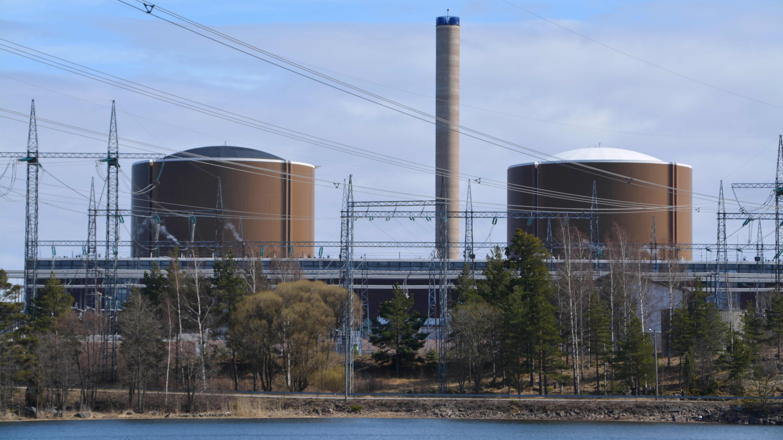 Fortumin Loviisan ydinvoimalaitos keväällä 2016.