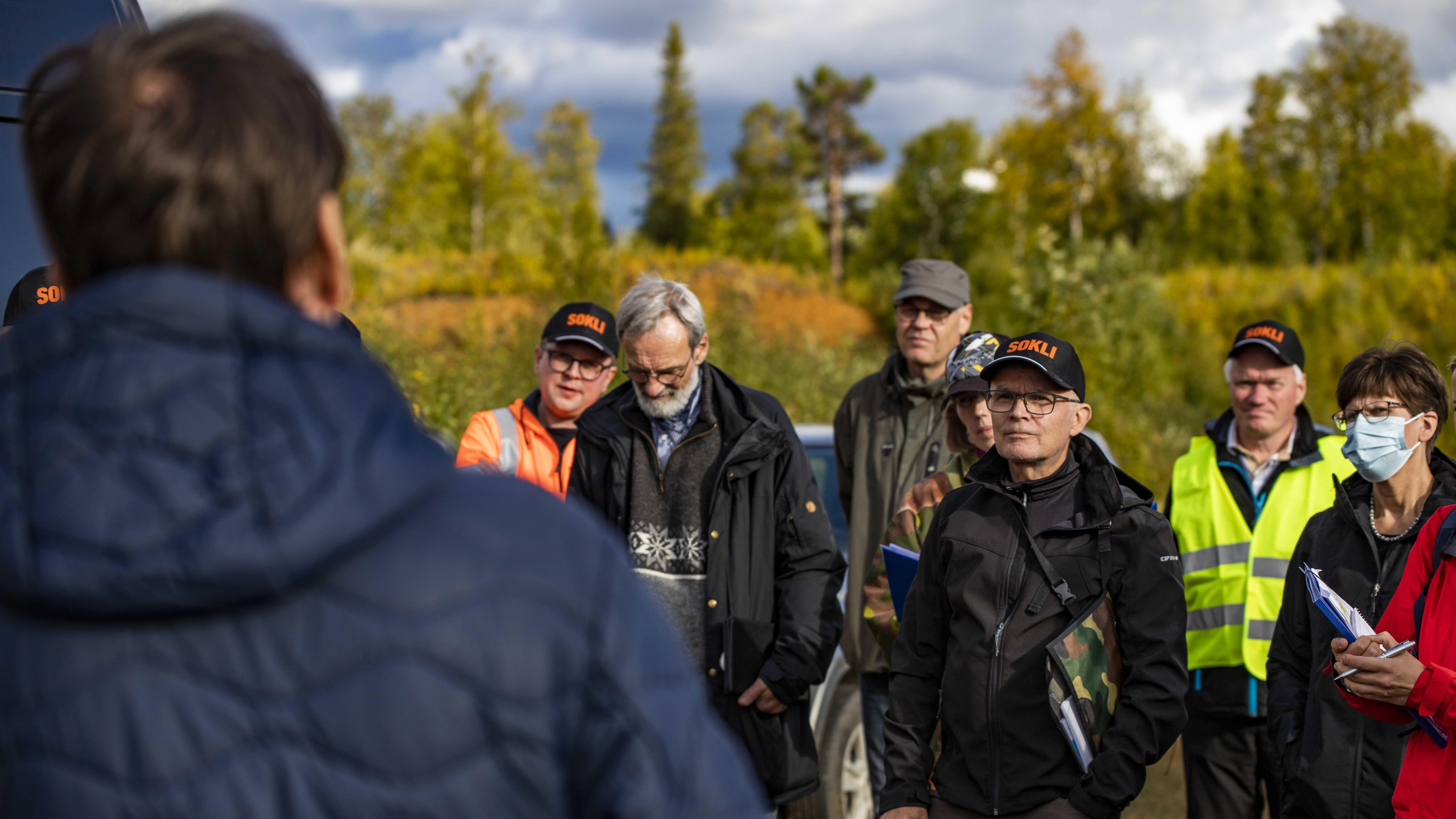 Korkein hallinto-oikeus suoritti kahden päivän katselmuksen Soklin kaivosalueelle Savukoskella