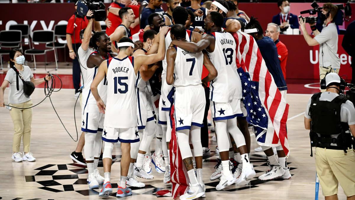 USA:lle miesten koripallokultaa