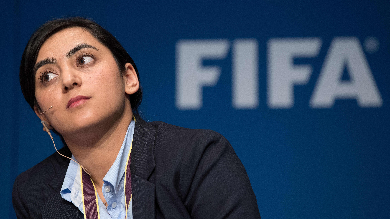 Khalida Popal kuvattuna vuonna 2017.