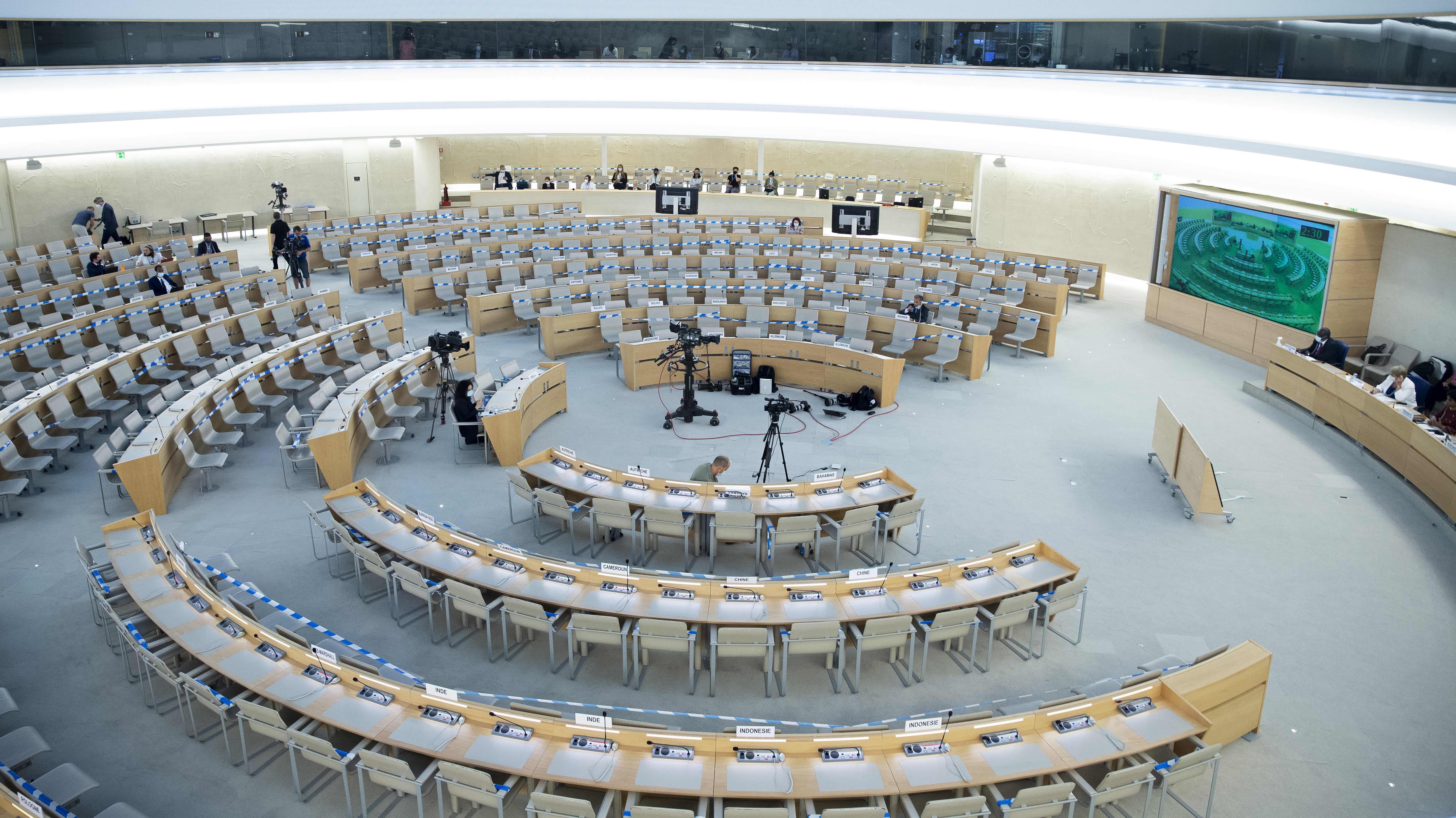 Yhdistyneiden kansakuntien ihmisoikeusneuvosto.