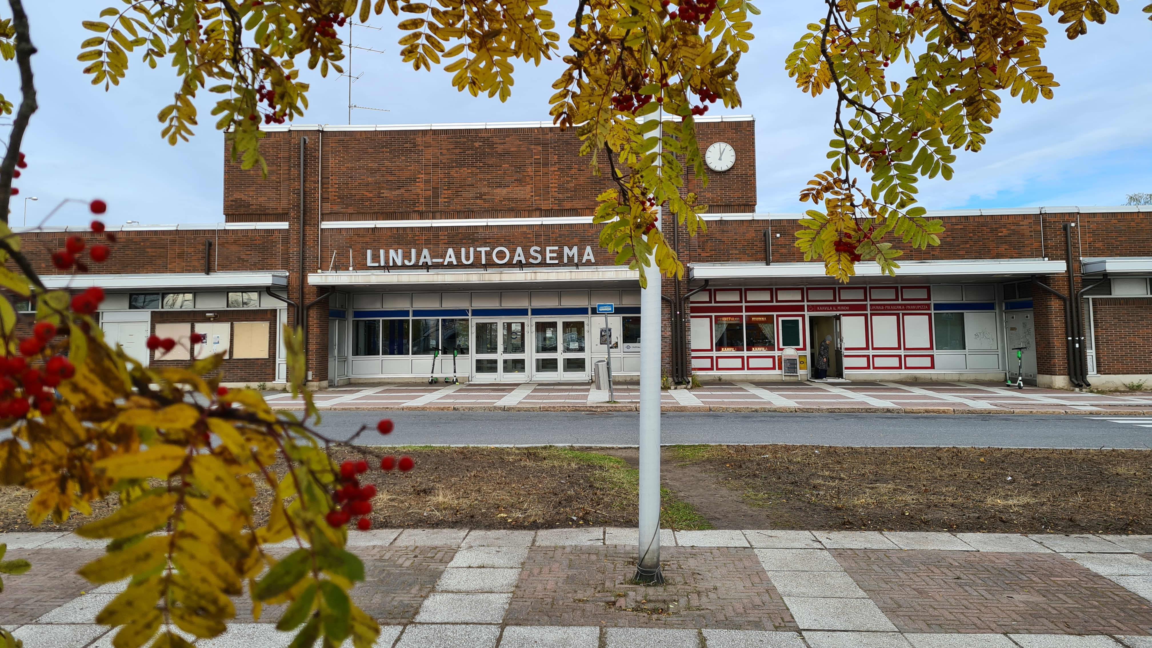 Oulun linja-autoasema
