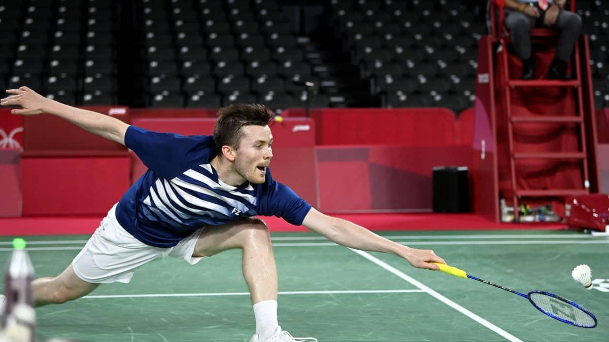 Kalle Koljosen olympiaurakka päättyi