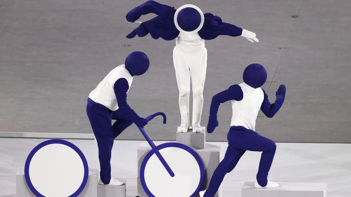Olympialaisten tutut piktogrammit esiteltiin Tokiossa luovalla tavalla