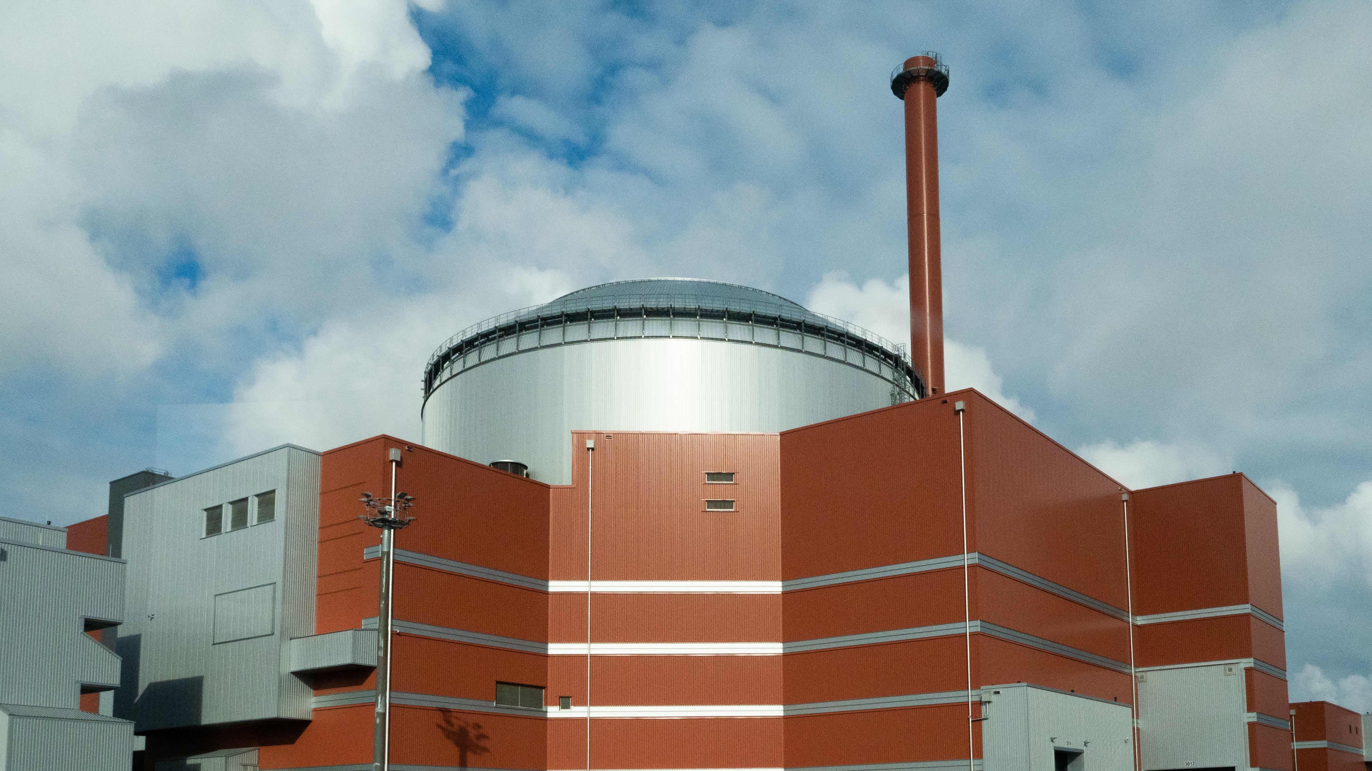 Olkiluoto 3-ydinvoimala.