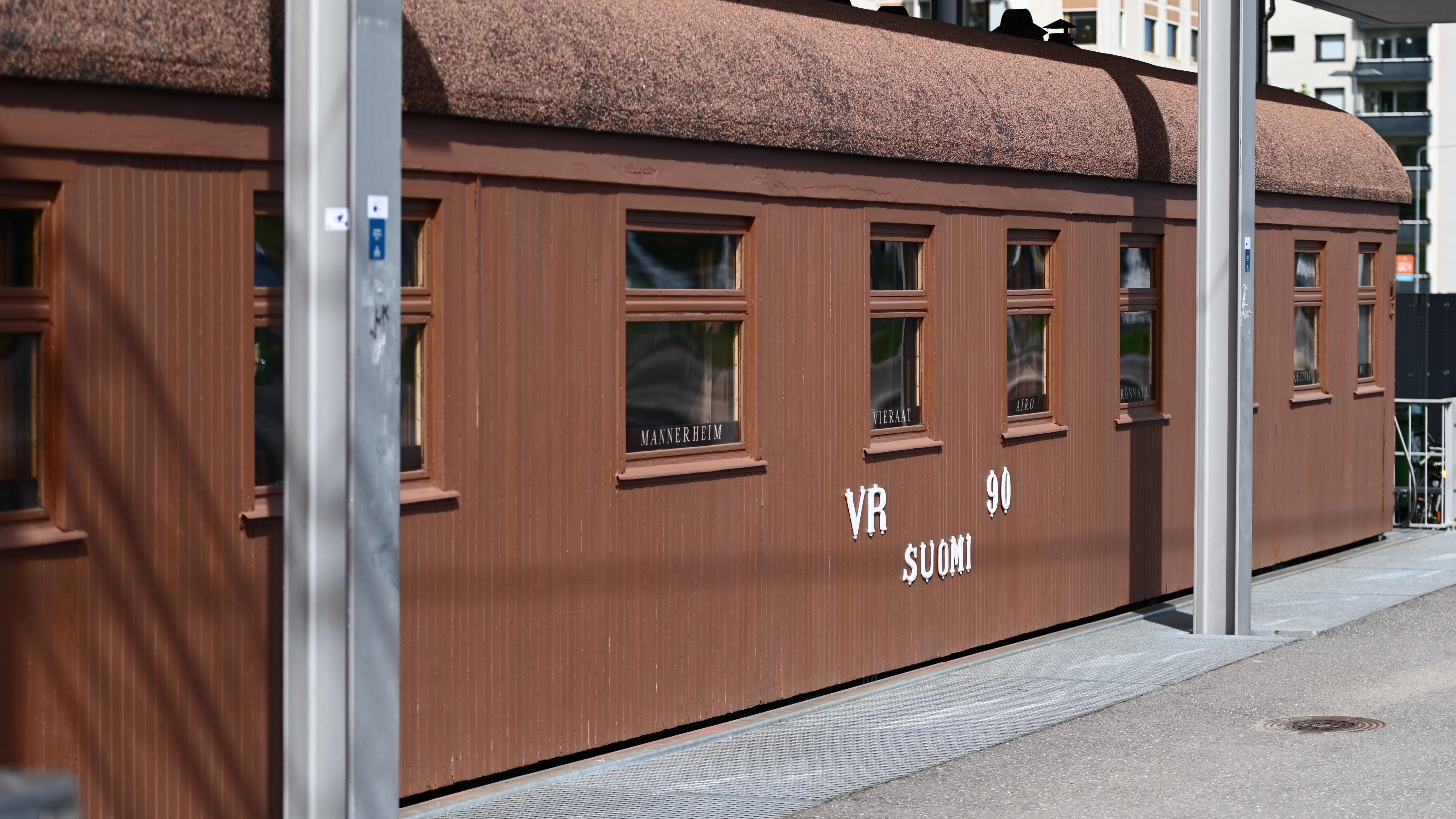 Mannerheimin salonkivaunu Mikkelissä