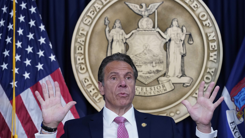 New Yorkin entinen kuvernööri Andrew Cuomo.
