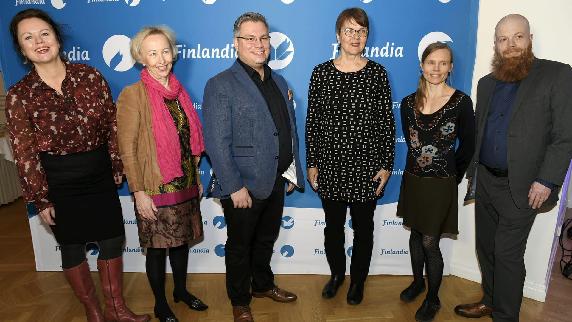 Kaunokirjallisuuden Finlandia-ehdokkaiden julkistus