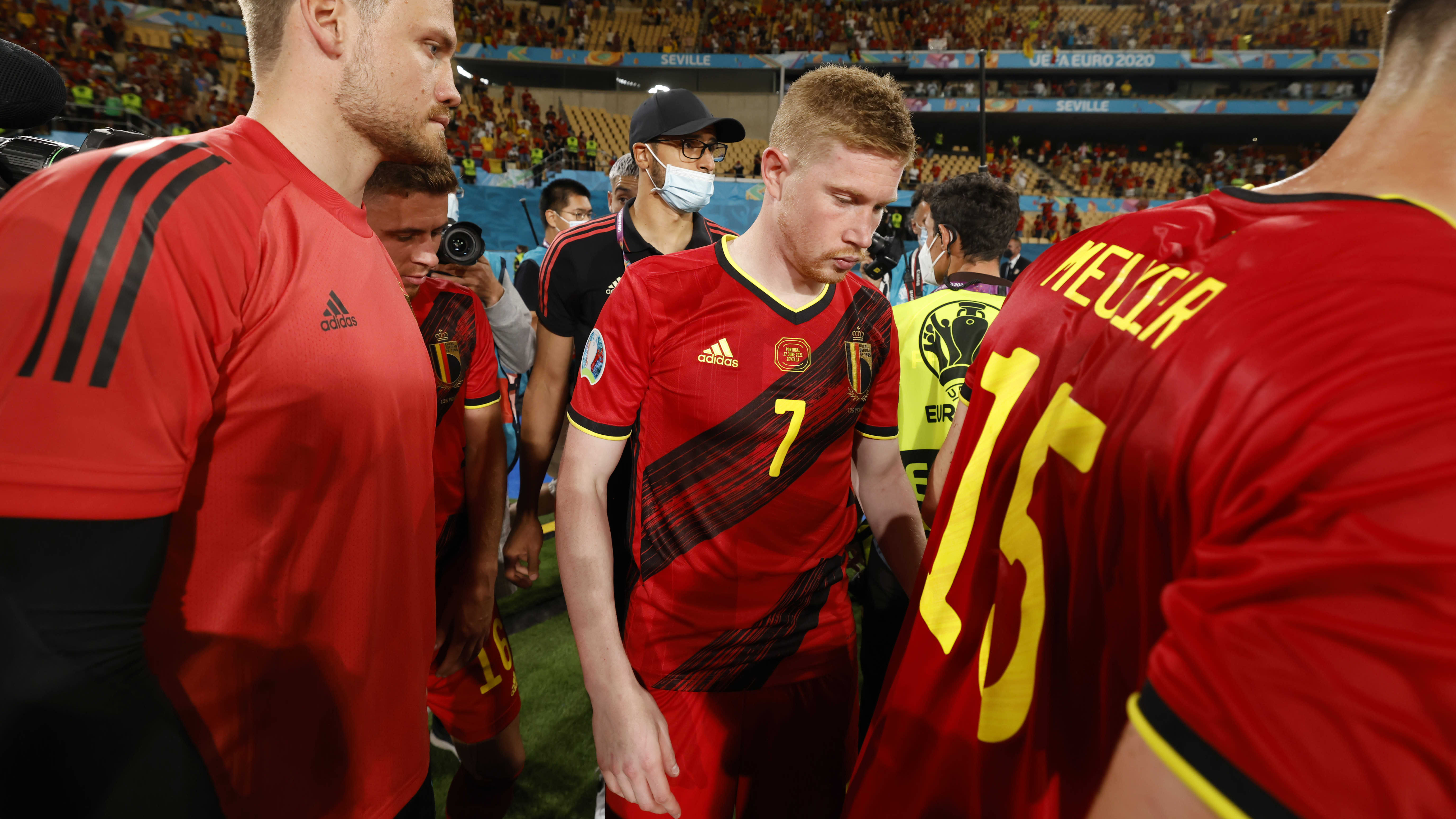 Kevin de Bruyne, Belgia vs Portugali