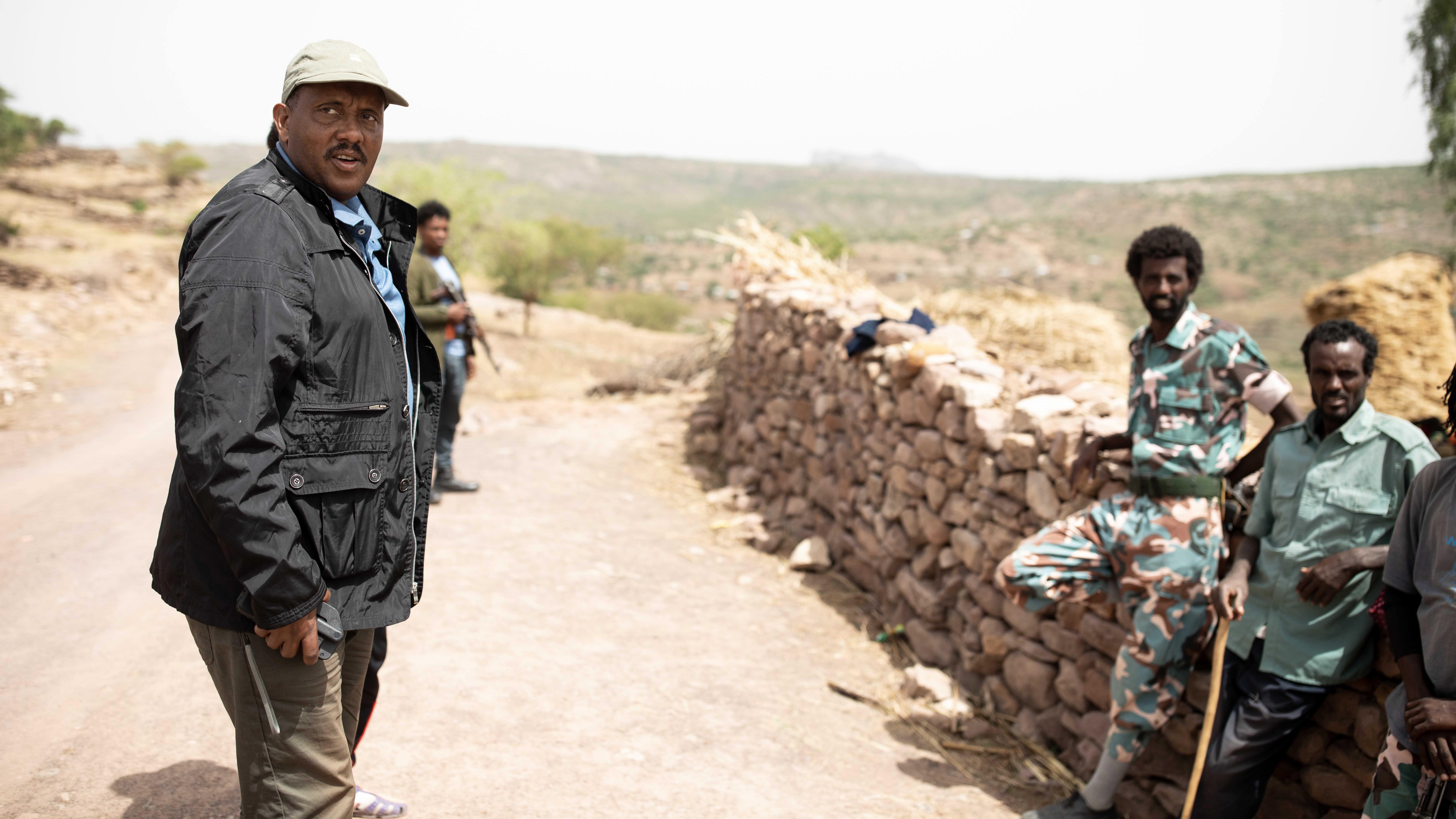 Etiopian entisen valtapuolueen TPLF:n puhemies Getachew Reda