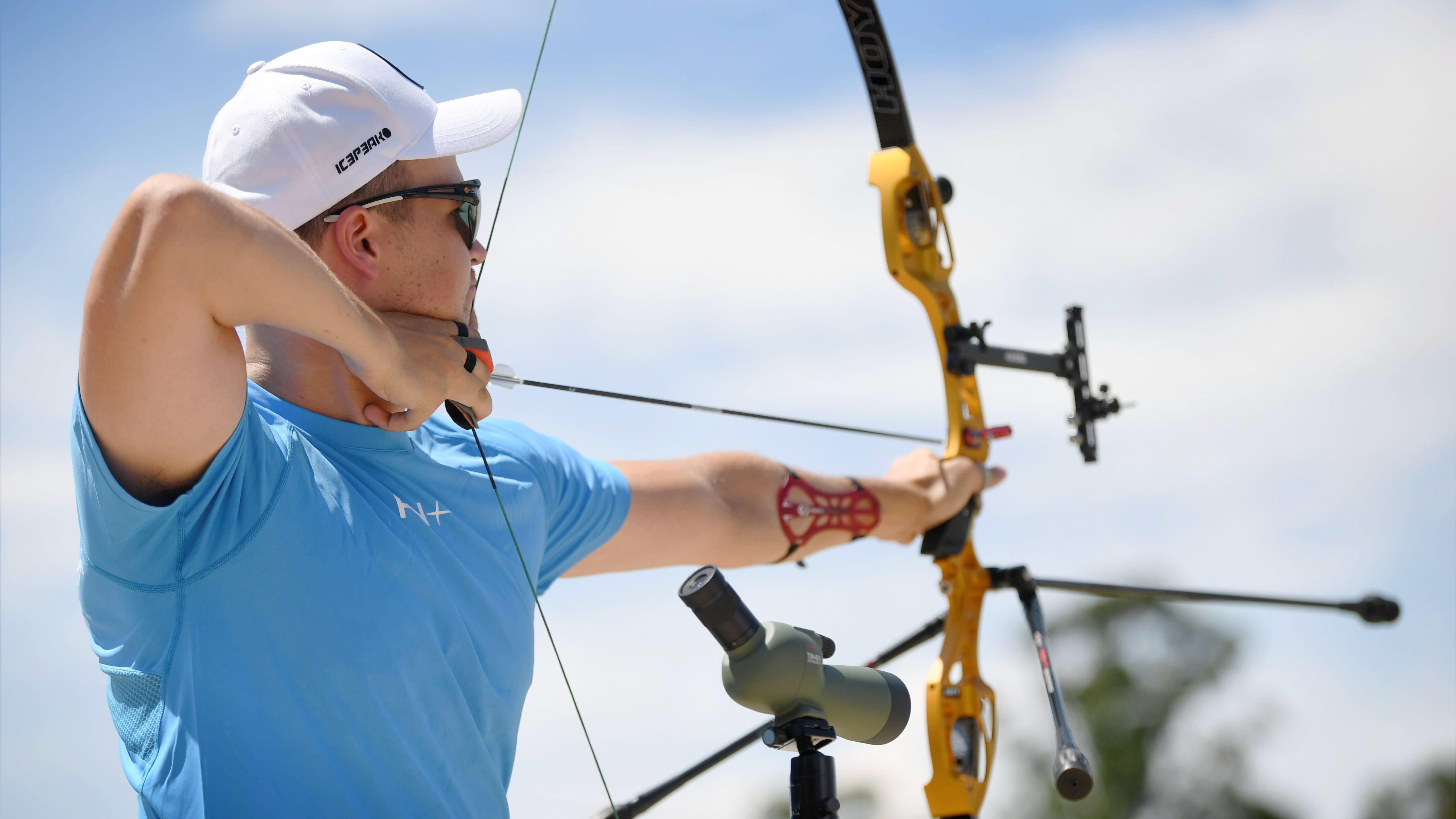 Antti Vikström tähtää Tokion olympiakisojen karsinnoissa.