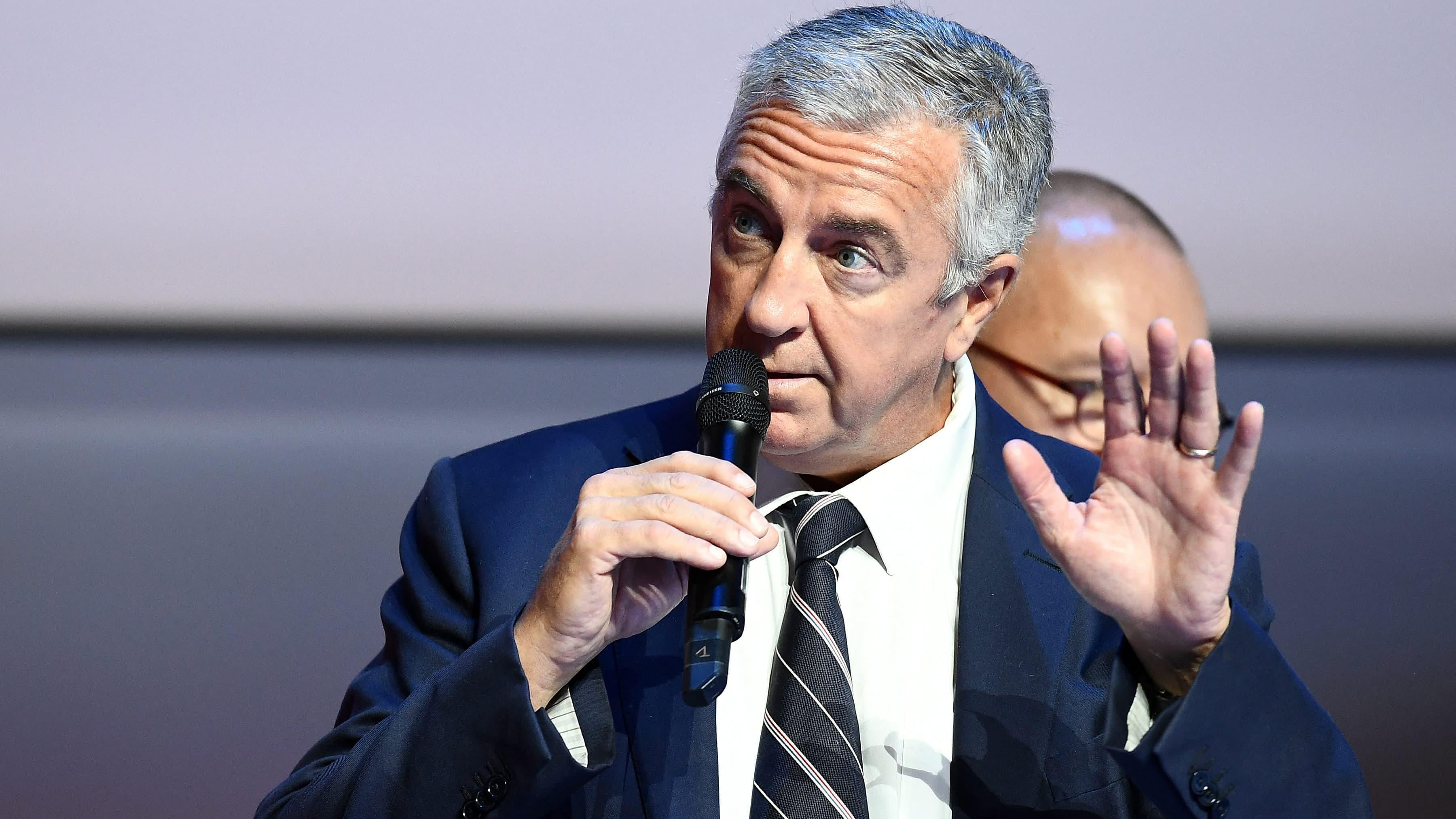 Luc Tardif antoi puheen lokakuussa 2017.