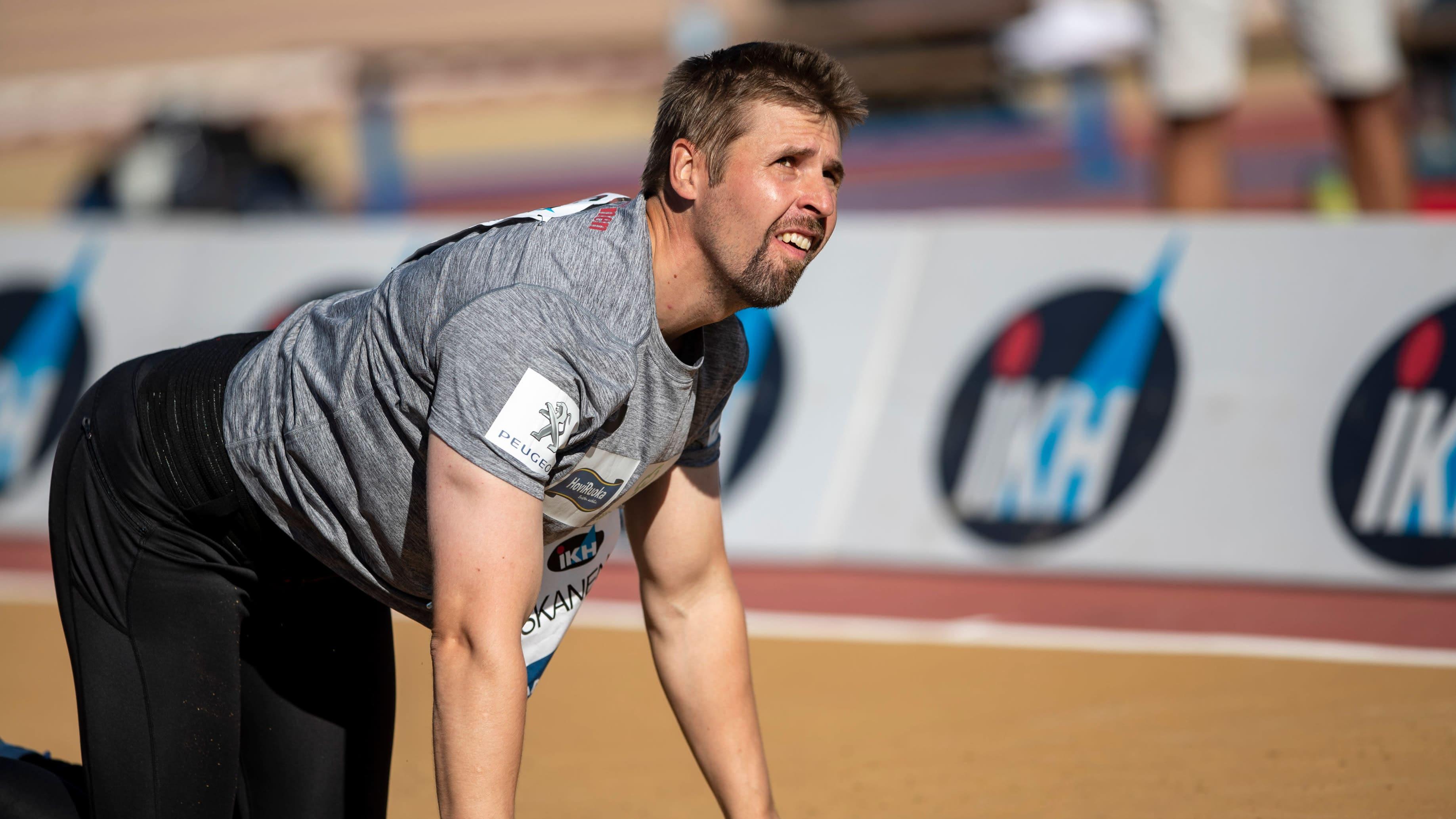 Antti Ruuskasen on tarkoitus palata kilpailemaan sunnuntaina.