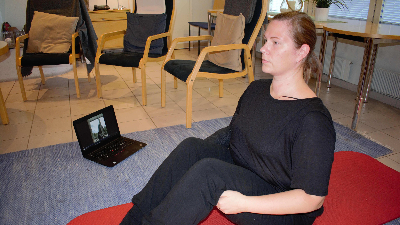 Sonja Alanko nauttii syöpää sairastavien etäliikunnasta