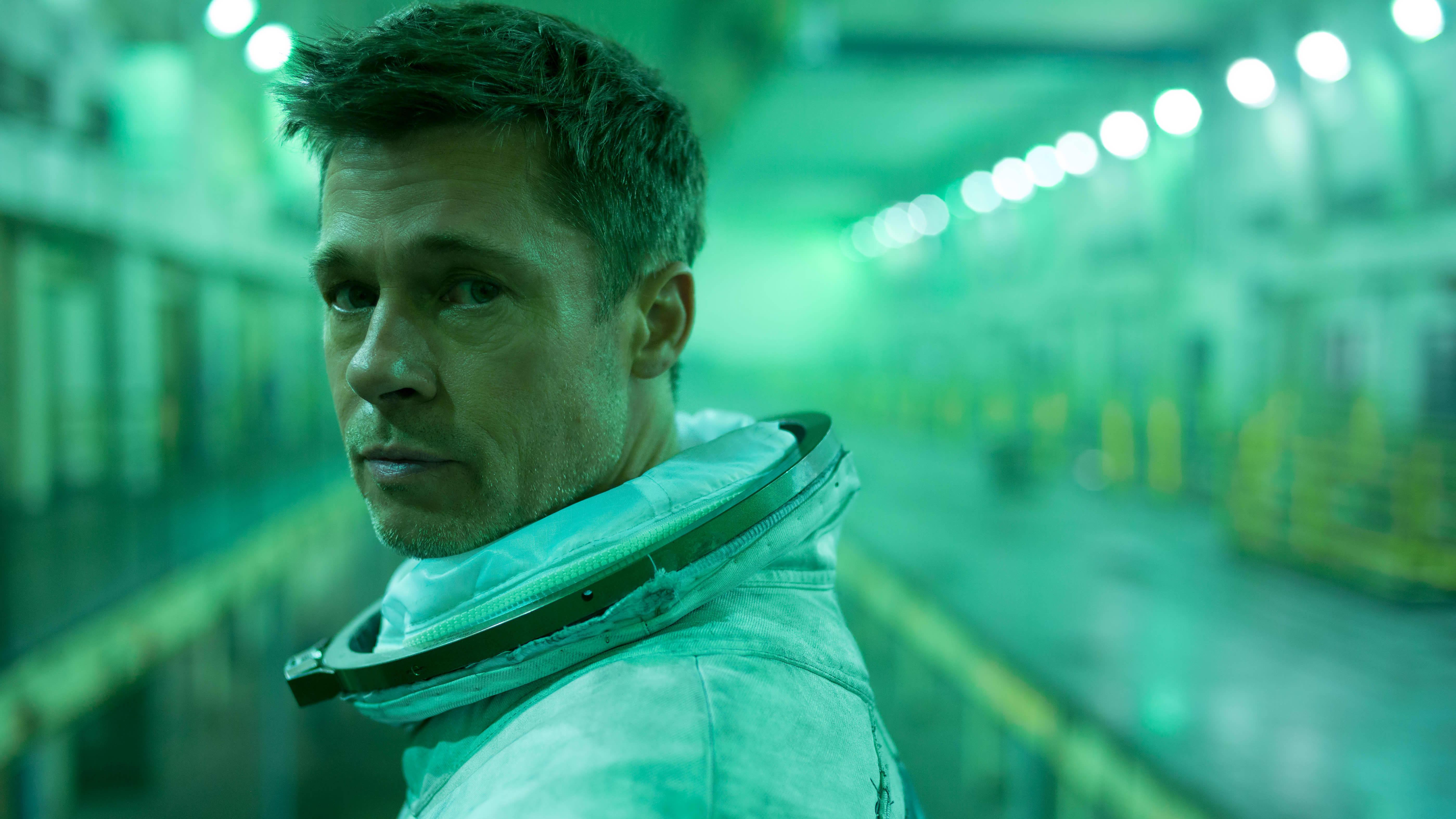 Brad Pitt on Ad Astra -elokuvan pääosassa.