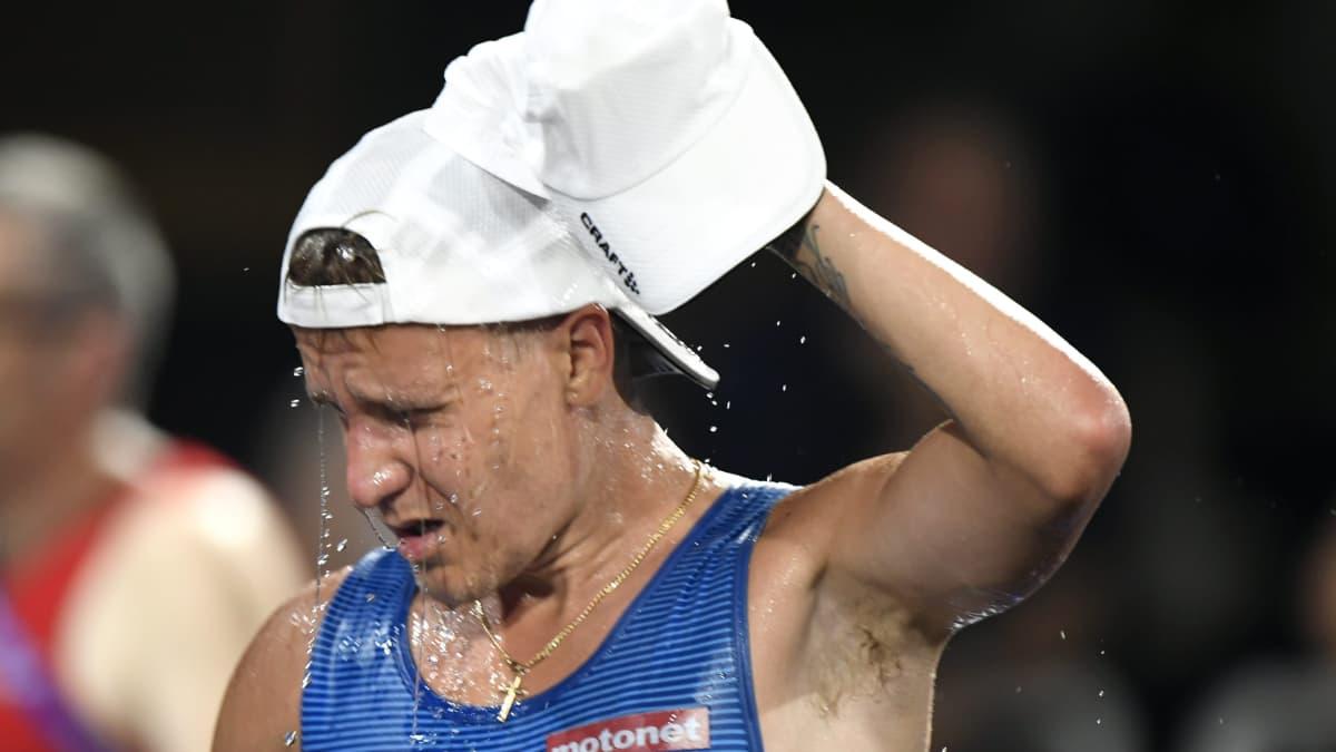 Näin suomalaiskävelijöiden ruumiinlämpö muuttui Dohan MM-kisojen 50 kilometrillä