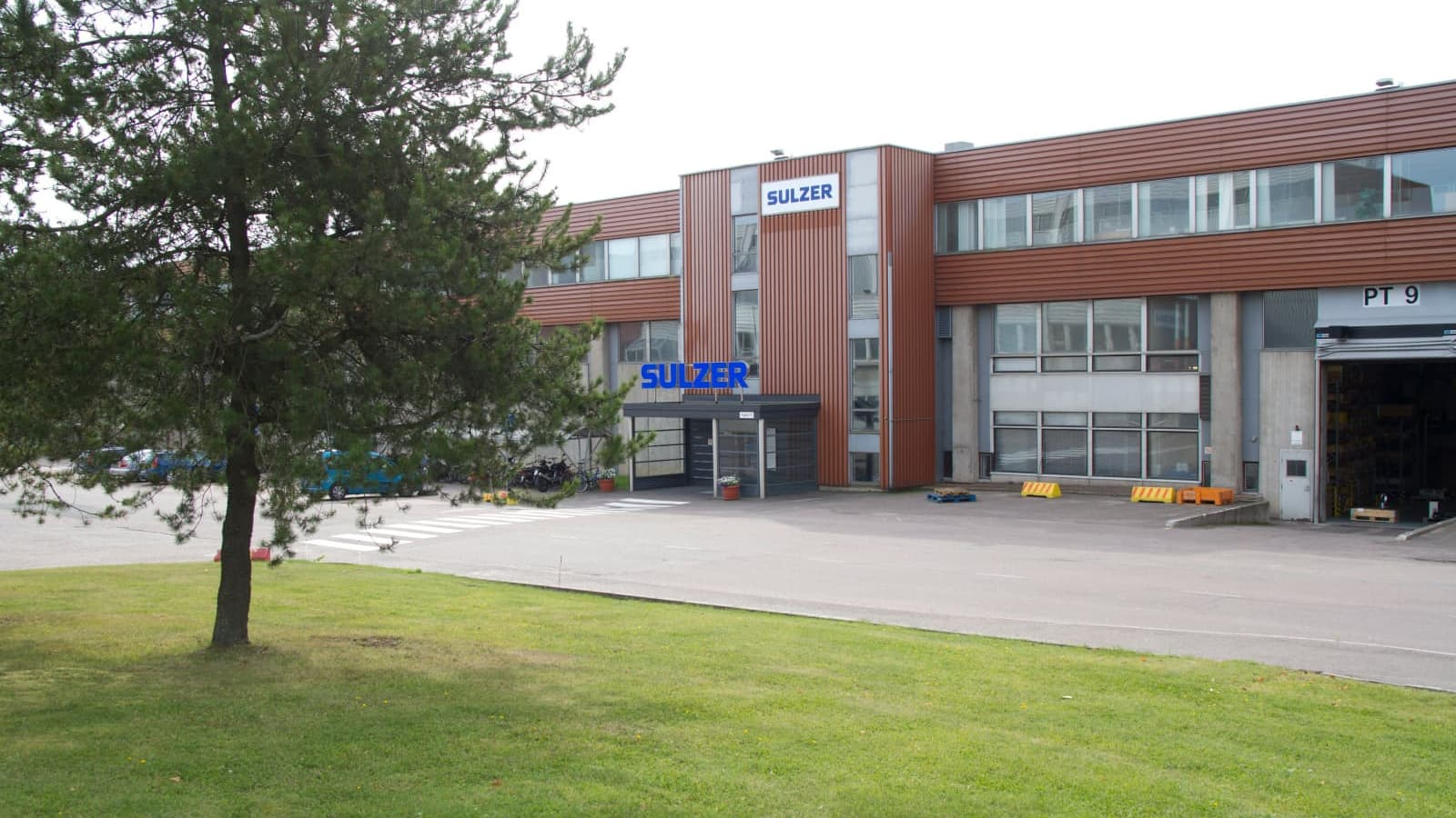 Sulzer Pumps Finlandin Kotkan tehdas.