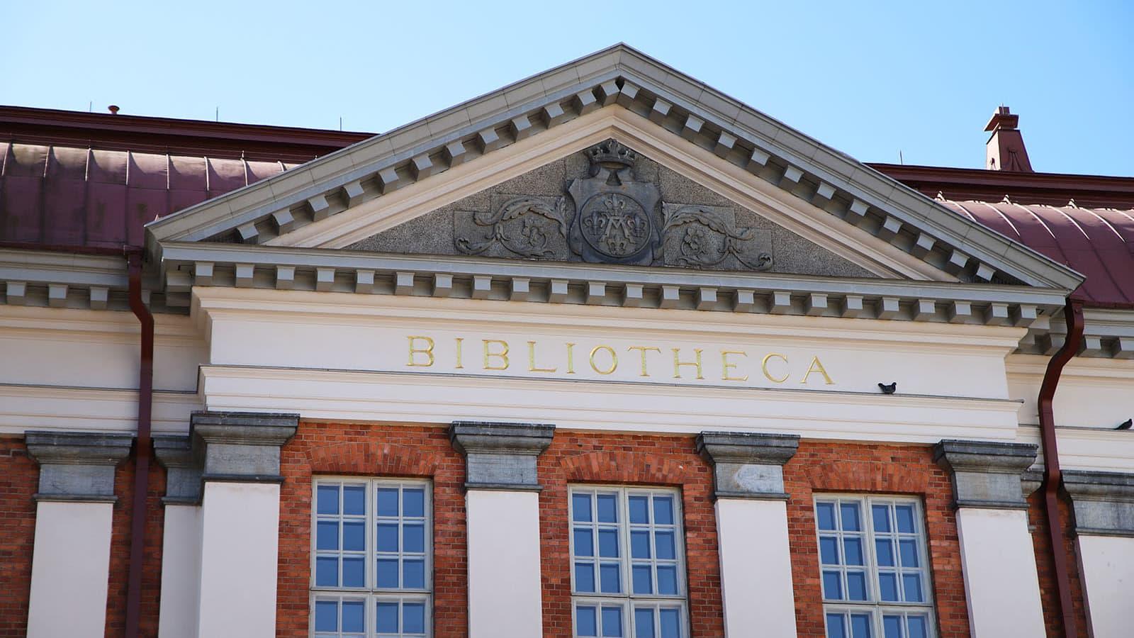 Turun kaupunginkirjaston kuvituskuva huhtikuulta 2021.
