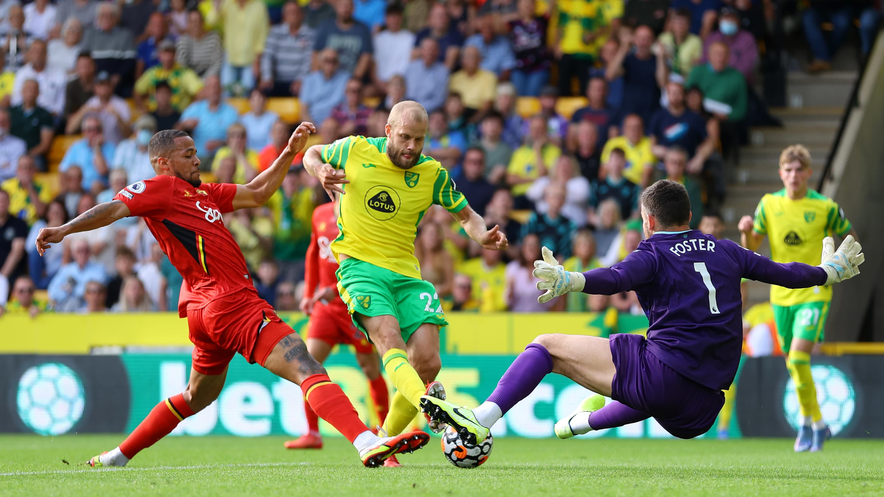 Teemu Pukki vs Watford, 18.9.2021