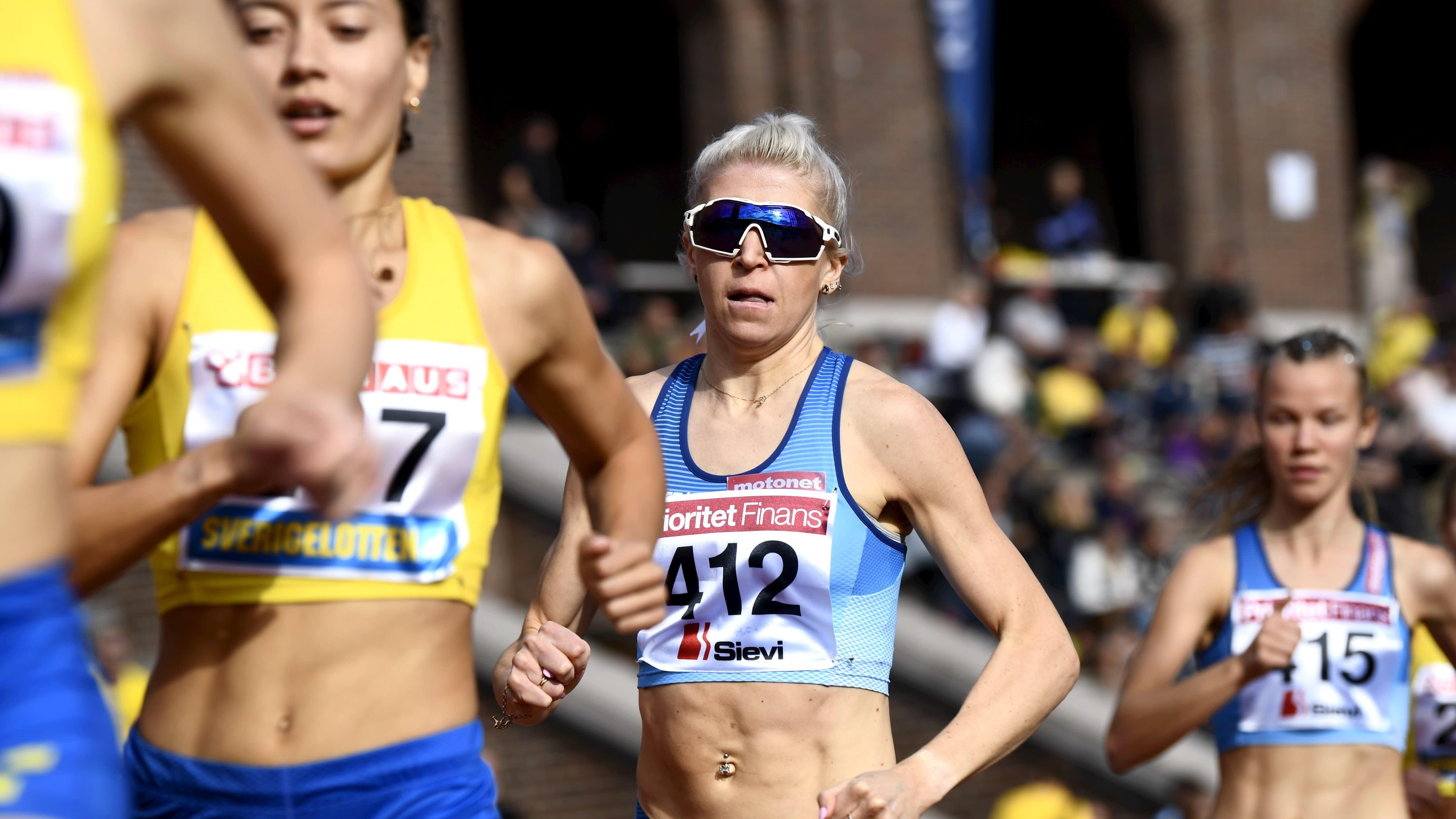 Sara Kuivisto keräsi Suomelle 12 pistettä maaottelussa