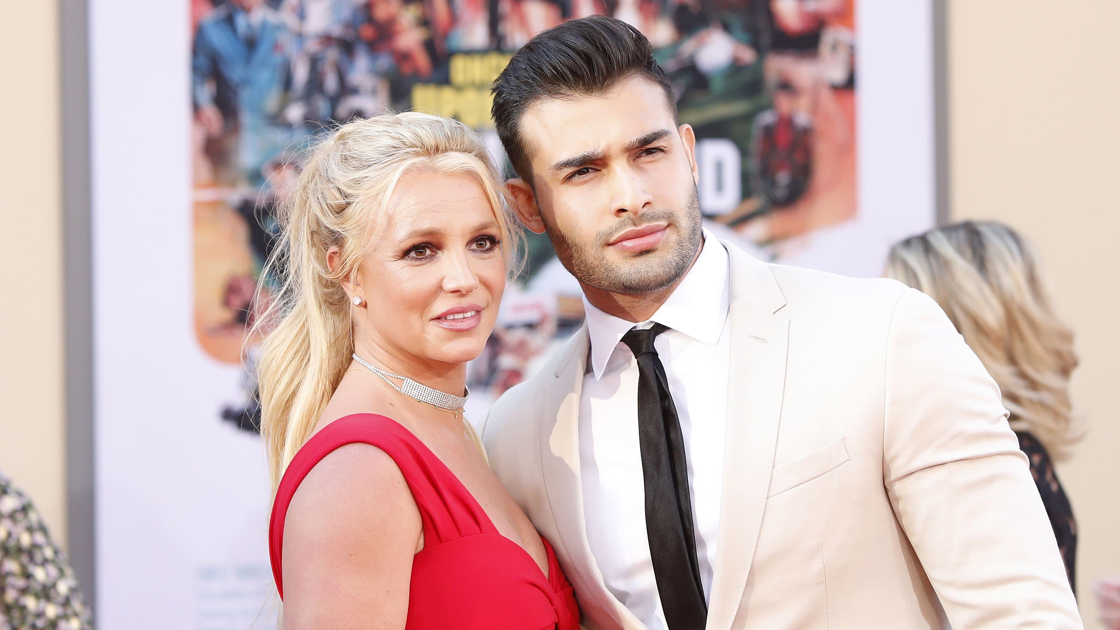Britney Spears ja Sam Asghari.